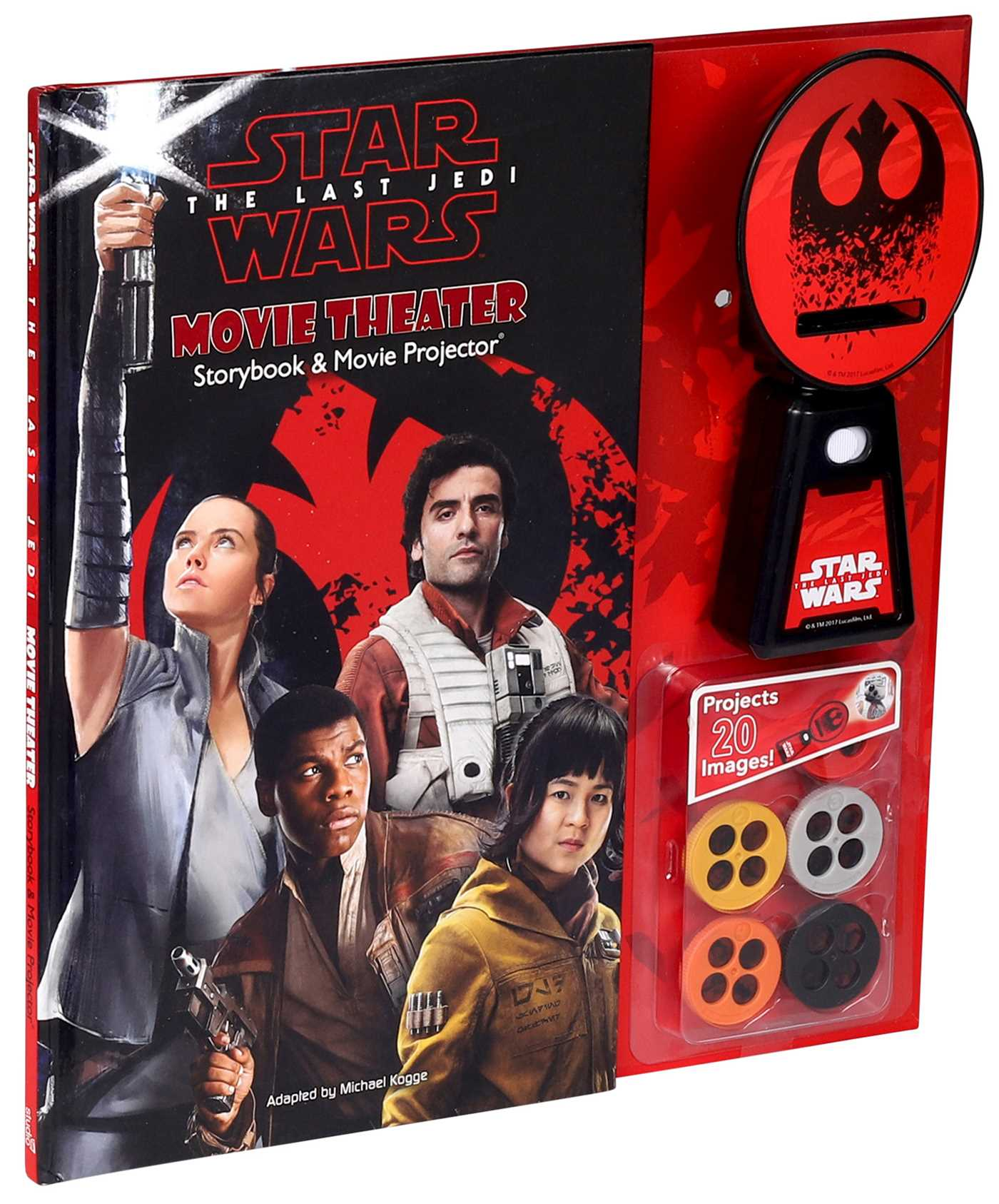 Star wars the last jedi movie theater storybook movie projector 9780794440442 hr