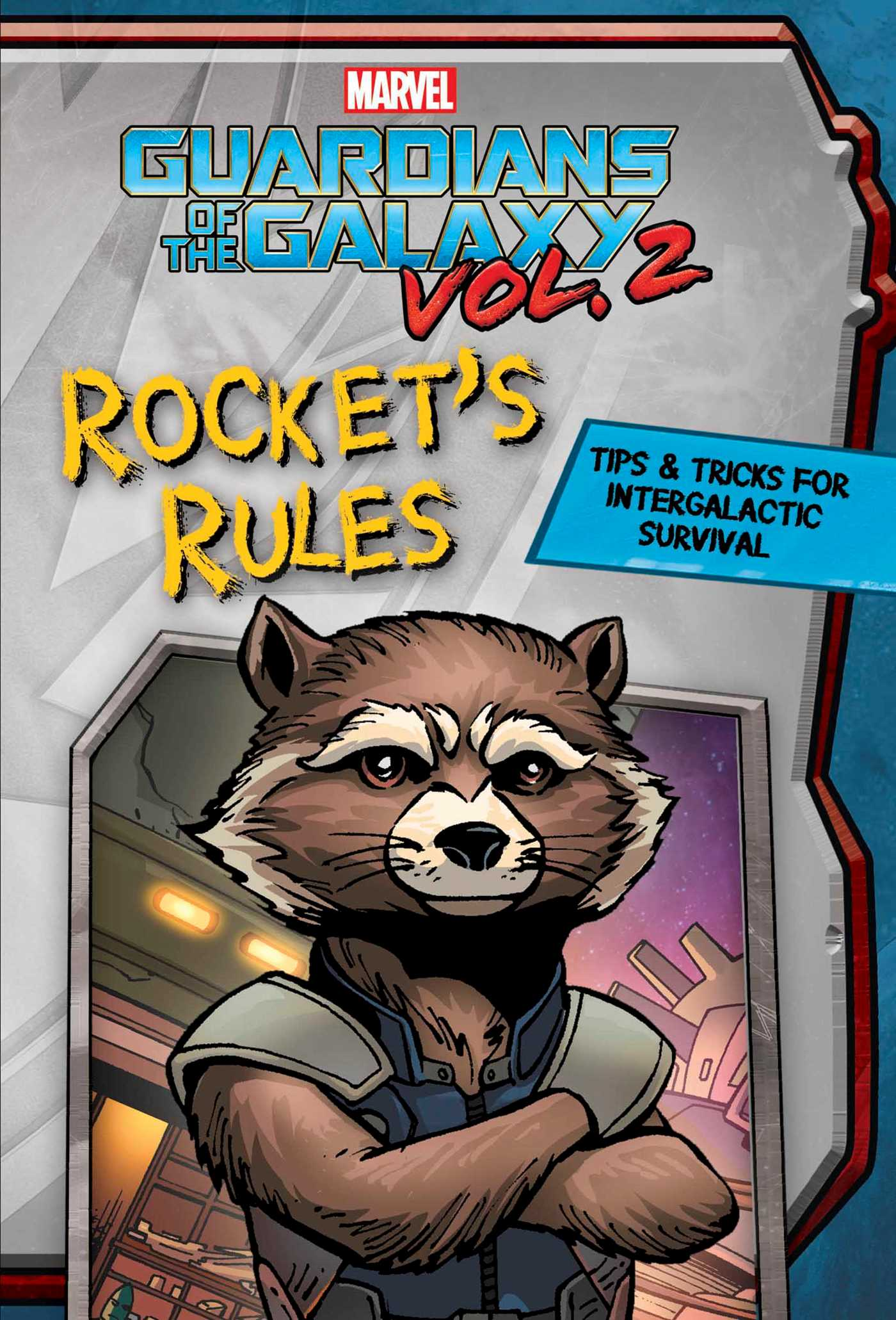 Marvel guardians of the galaxy rockets rules 9780794440701 hr