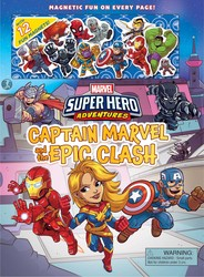 Marvel Super Hero Adventures: Captain Marvel and The Epic Clash