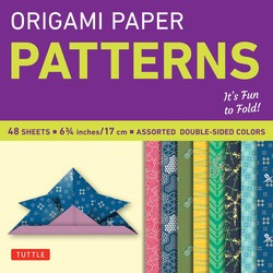 "Origami Paper - Pattern - Small 6 3/4"" - 49 Sheets"