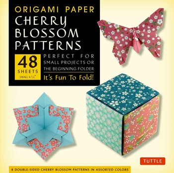 Origami Cherry Blossoms Paper Pack Small 6 3/4