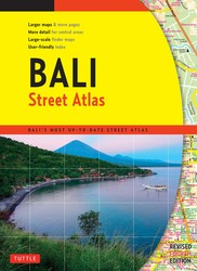 Bali Street Atlas Fourth Edition