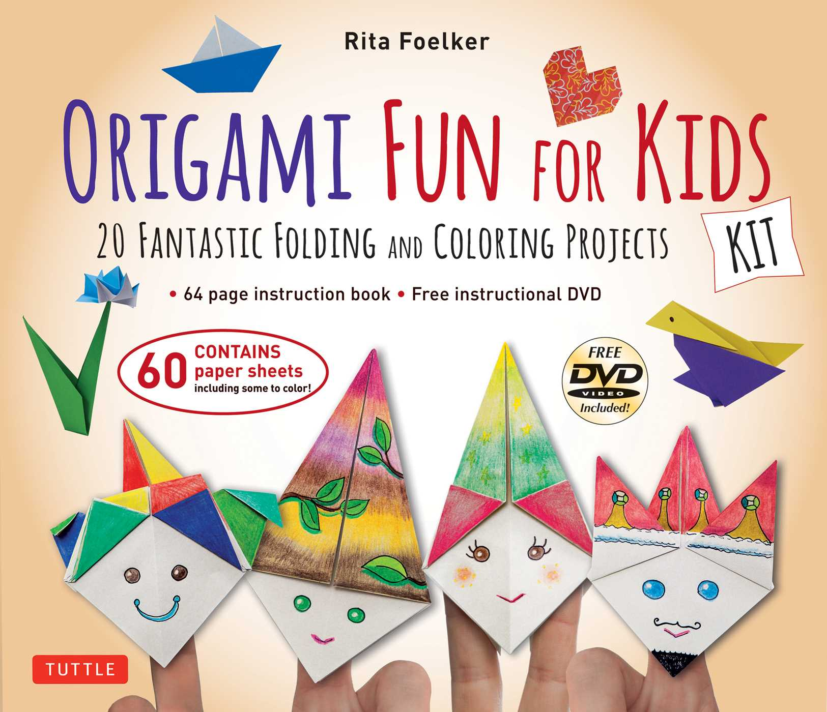 Origami Games HandsOn Fun for Kids! Origami Book with