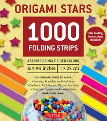 Origami Stars Papers 1000 Paper Strips in Assorted Colors