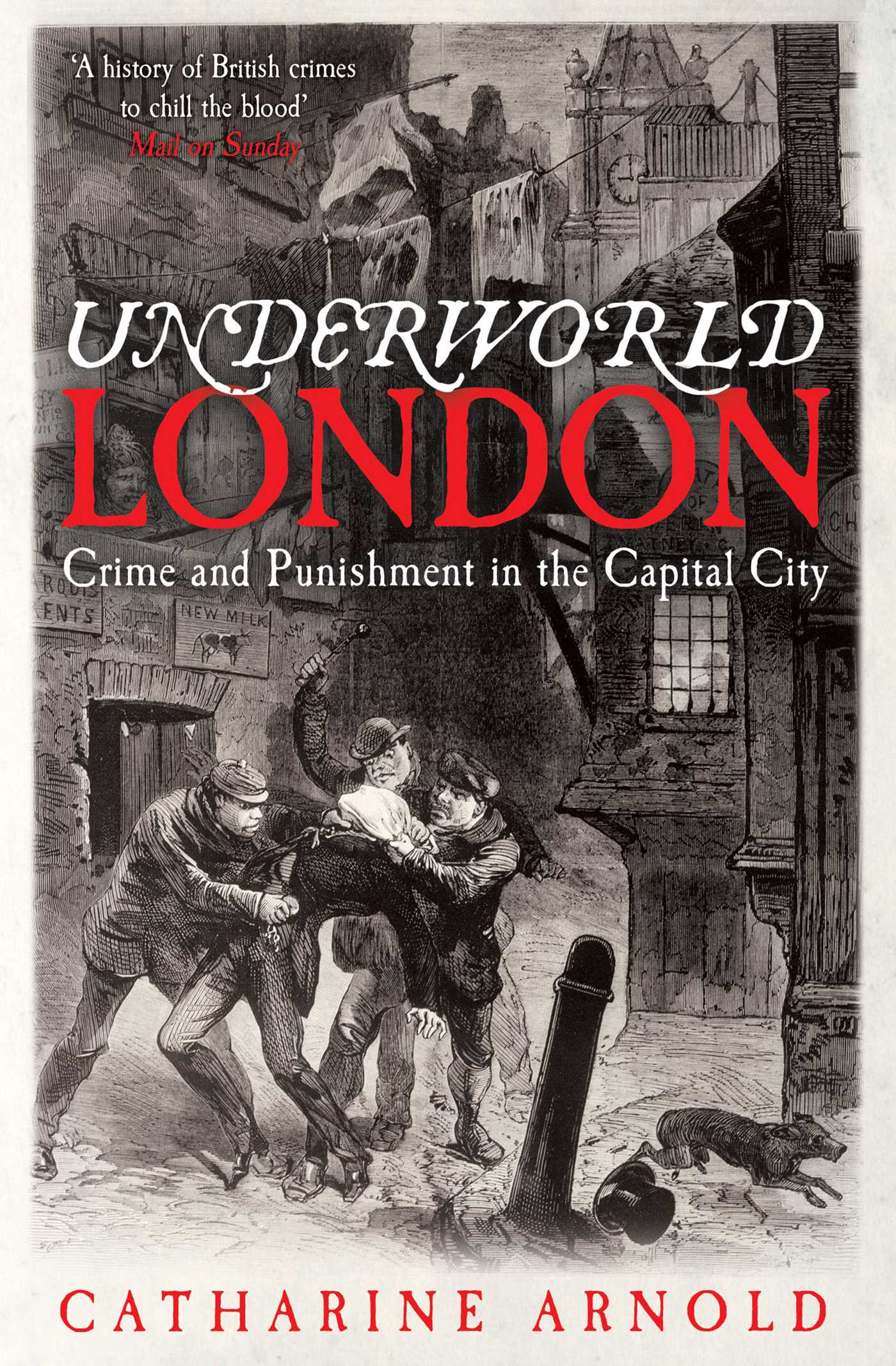 Underworld london 9780857201171 hr