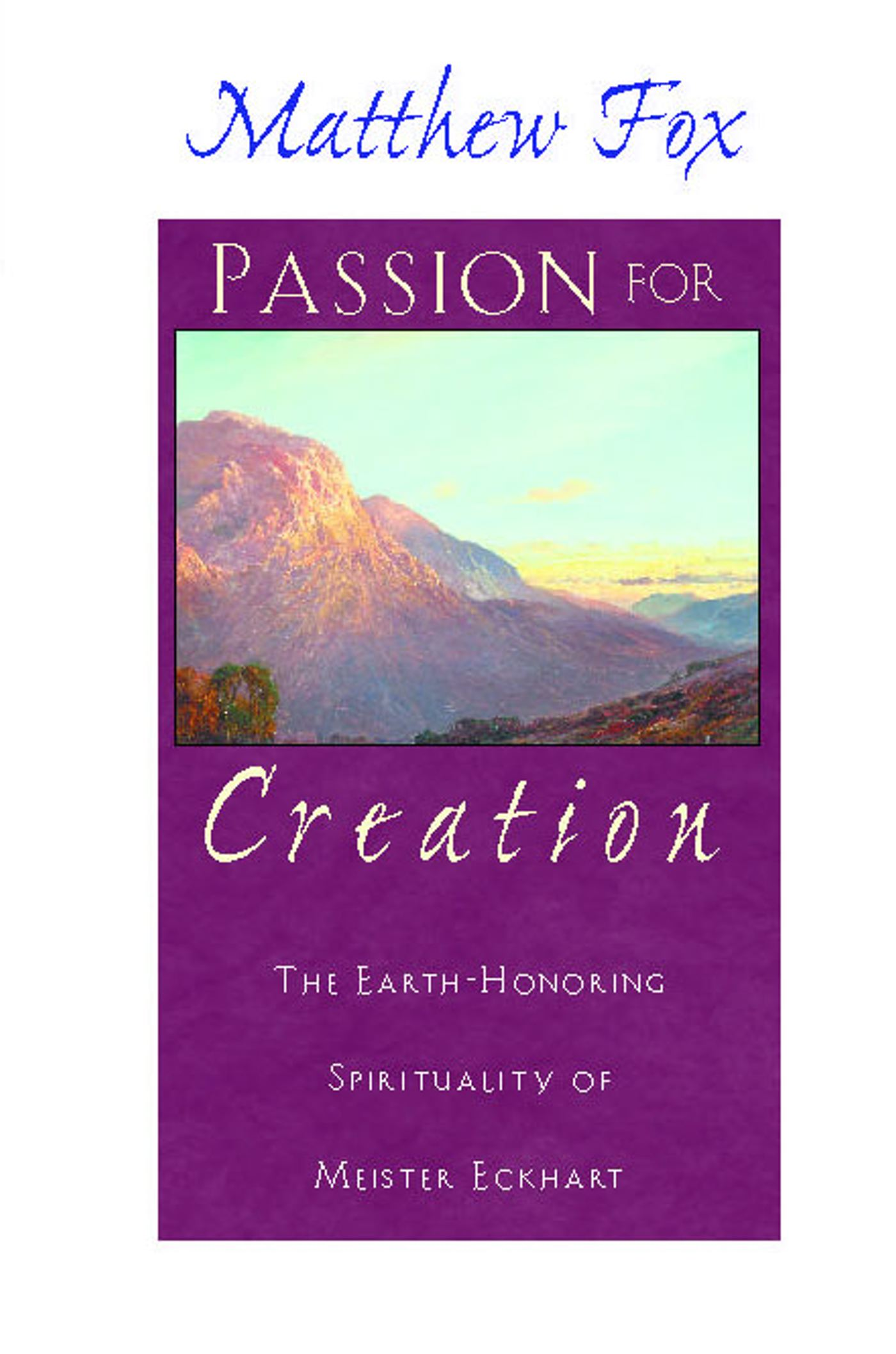 Passion for creation 9780892818013 hr