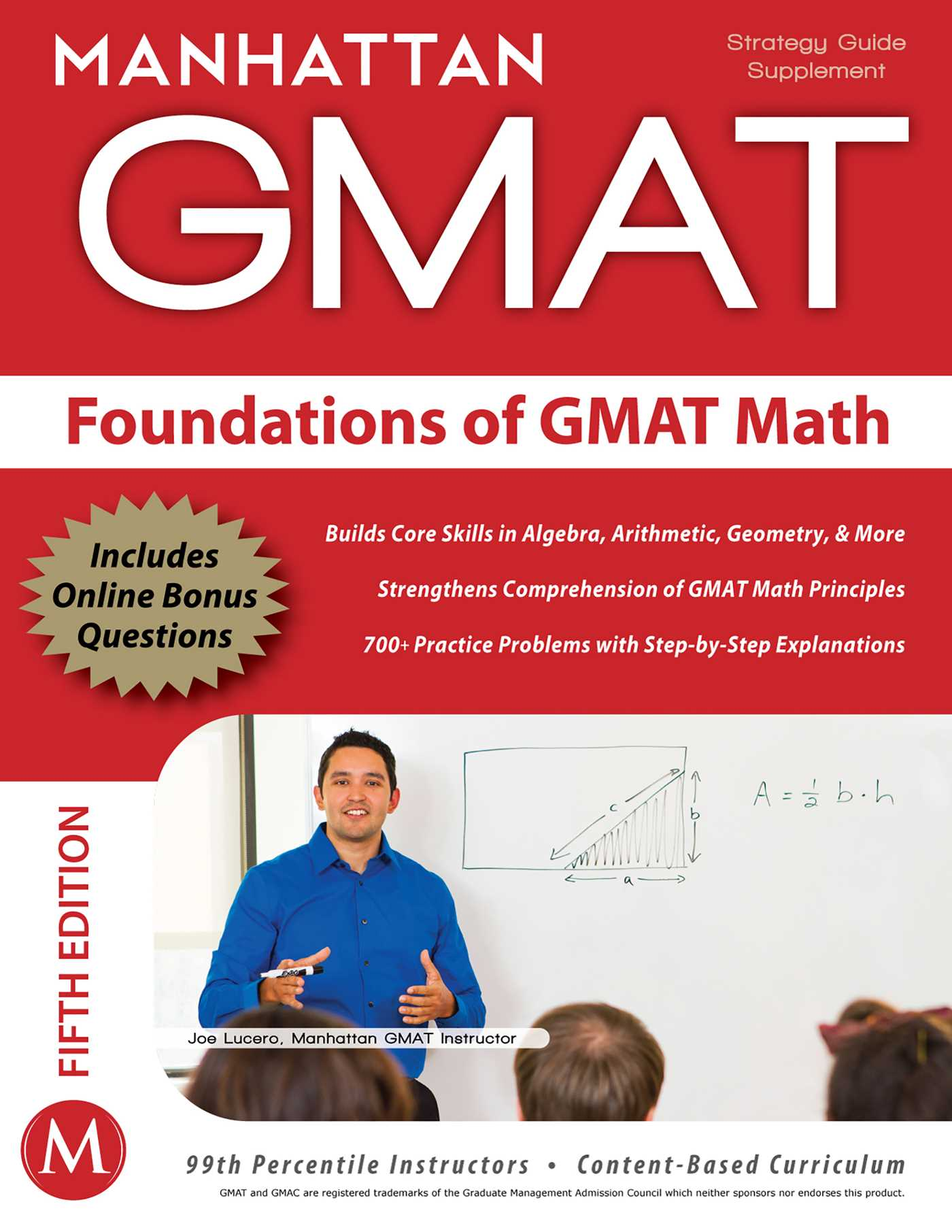 Book Cover Graphism Guide : Foundations of gmat math ebook by manhattan