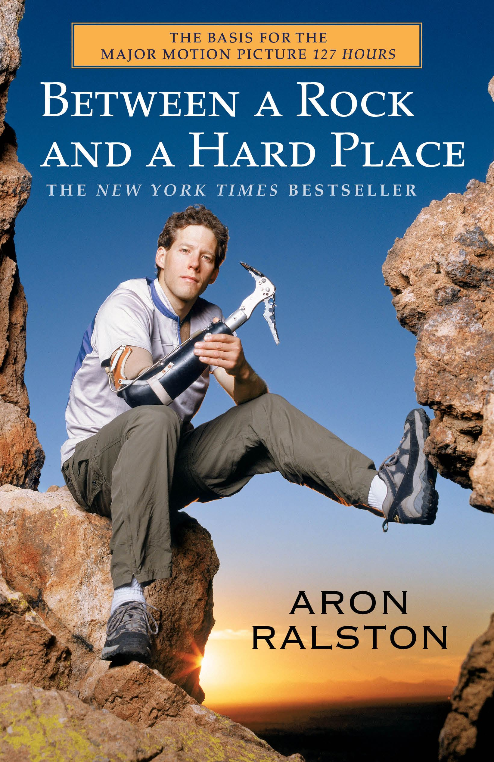 a comparison between the portrayal of pain in aron ralstons memoir between a rock and a hard place a