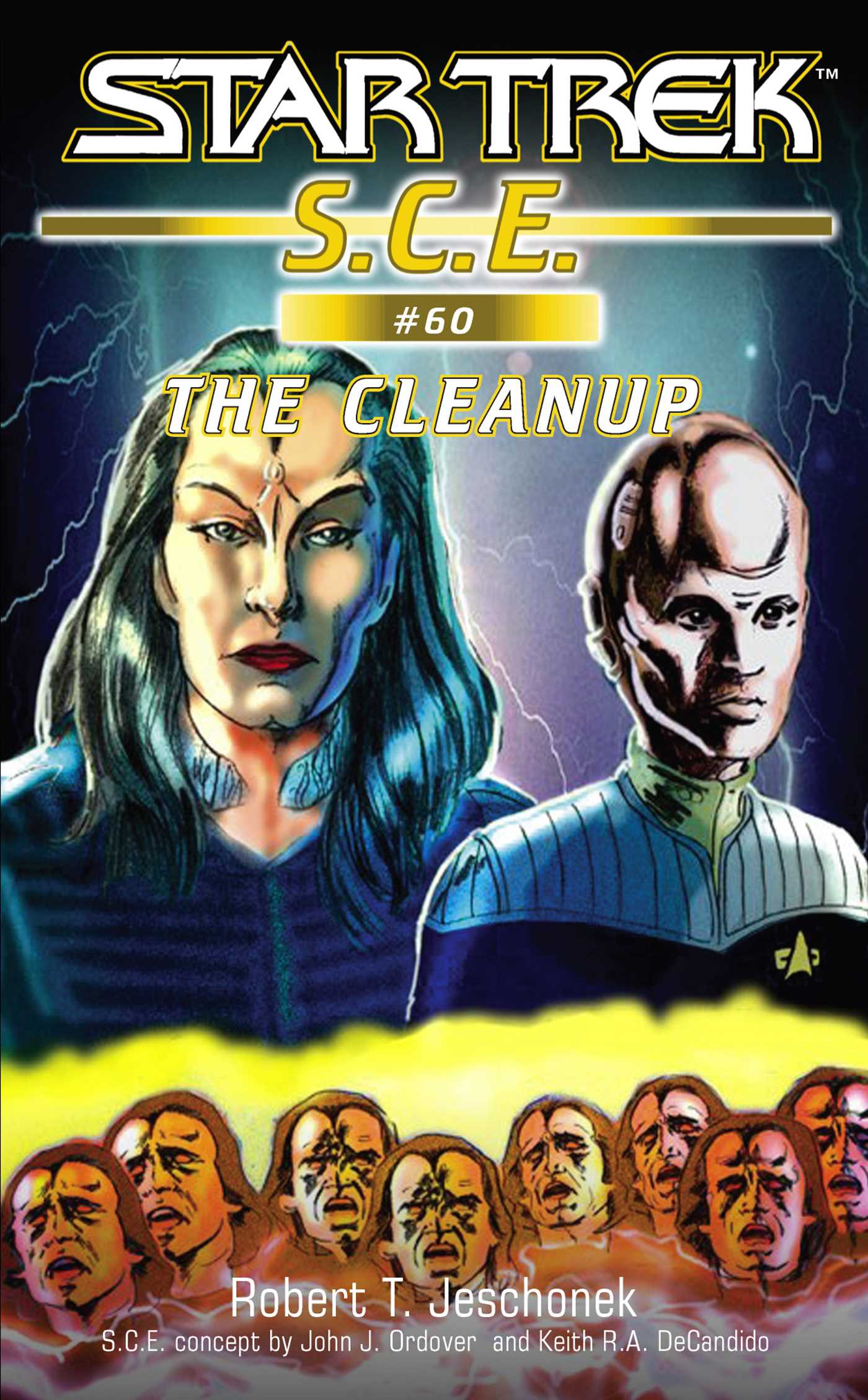 Star trek the cleanup 9781416520443 hr