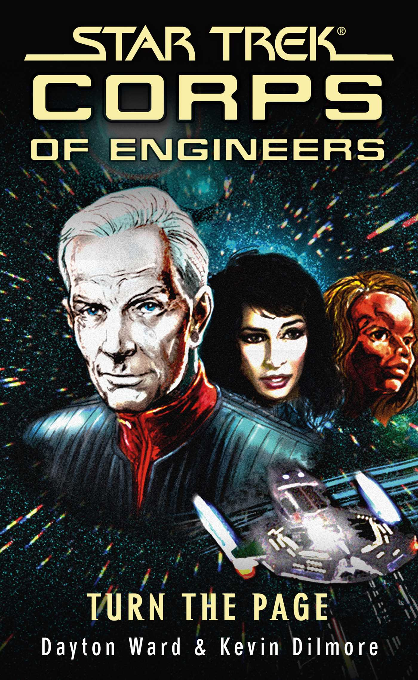 Star trek corps of engineers turn the page 9781416543244 hr