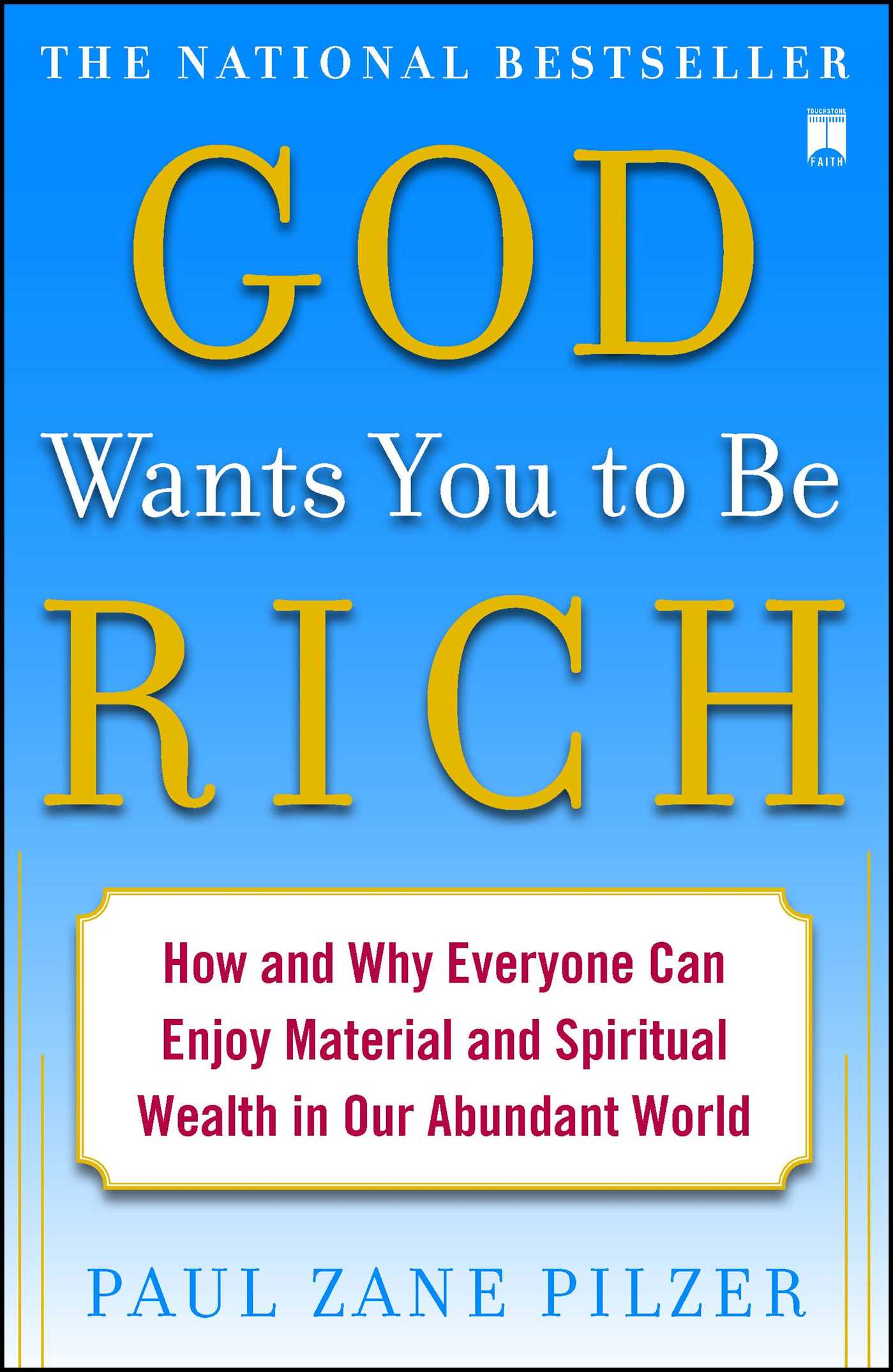 God wants you to be rich 9781416549277 hr