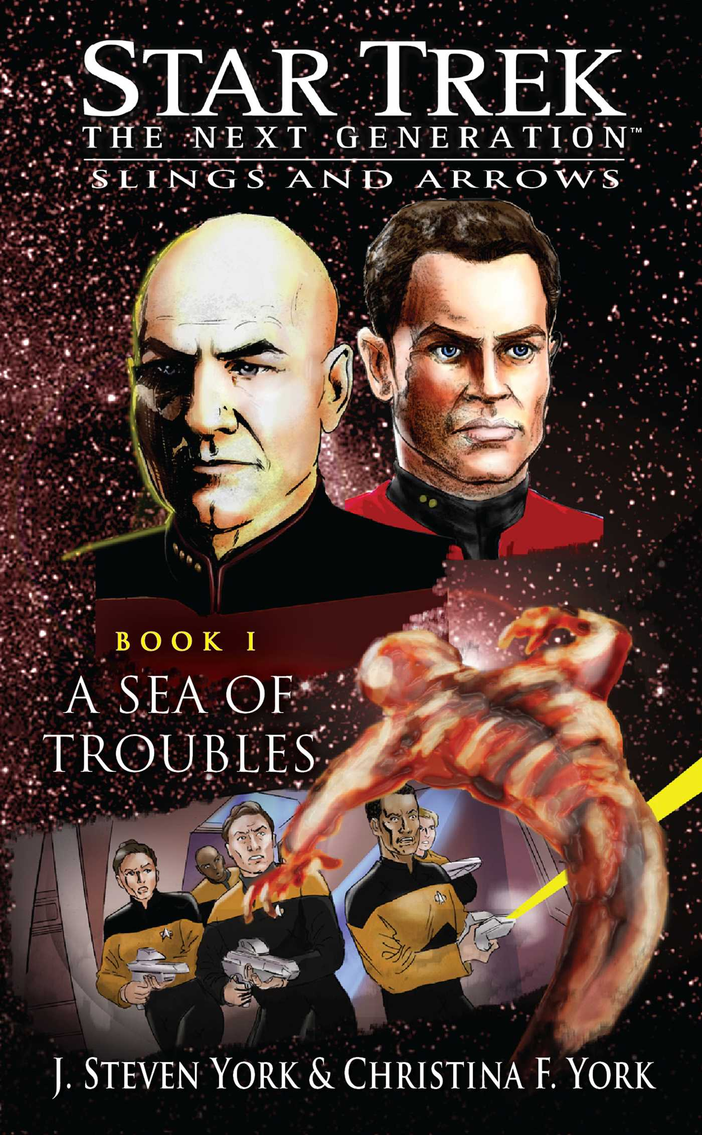 Star trek the next generation a sea of troubles 9781416550082 hr