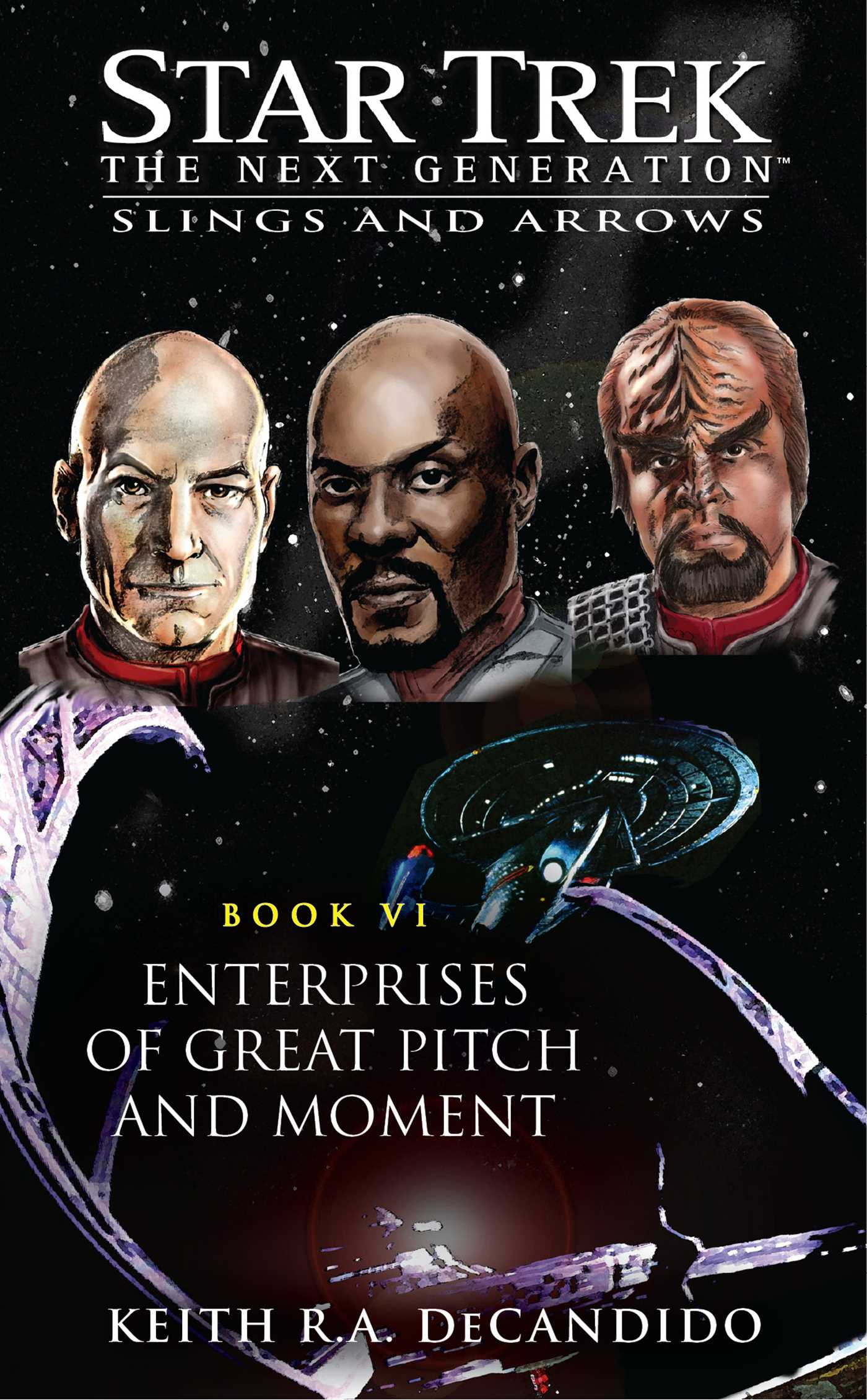 Star trek tng enterprises of great pitch and moment 9781416550273 hr
