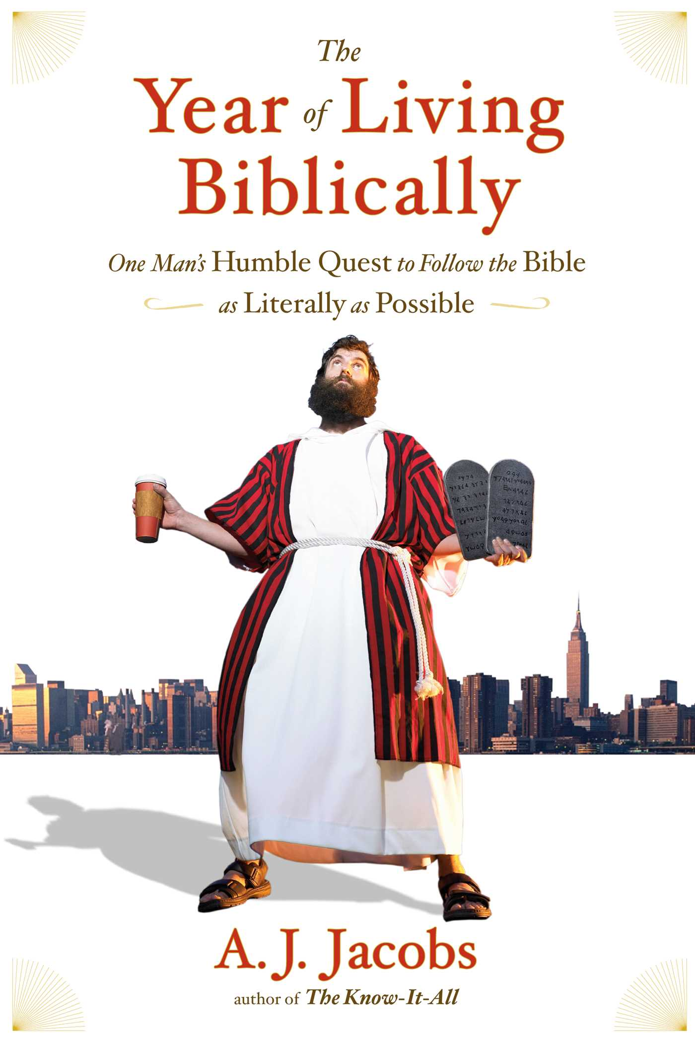 Year of living biblically 9781416553229 hr