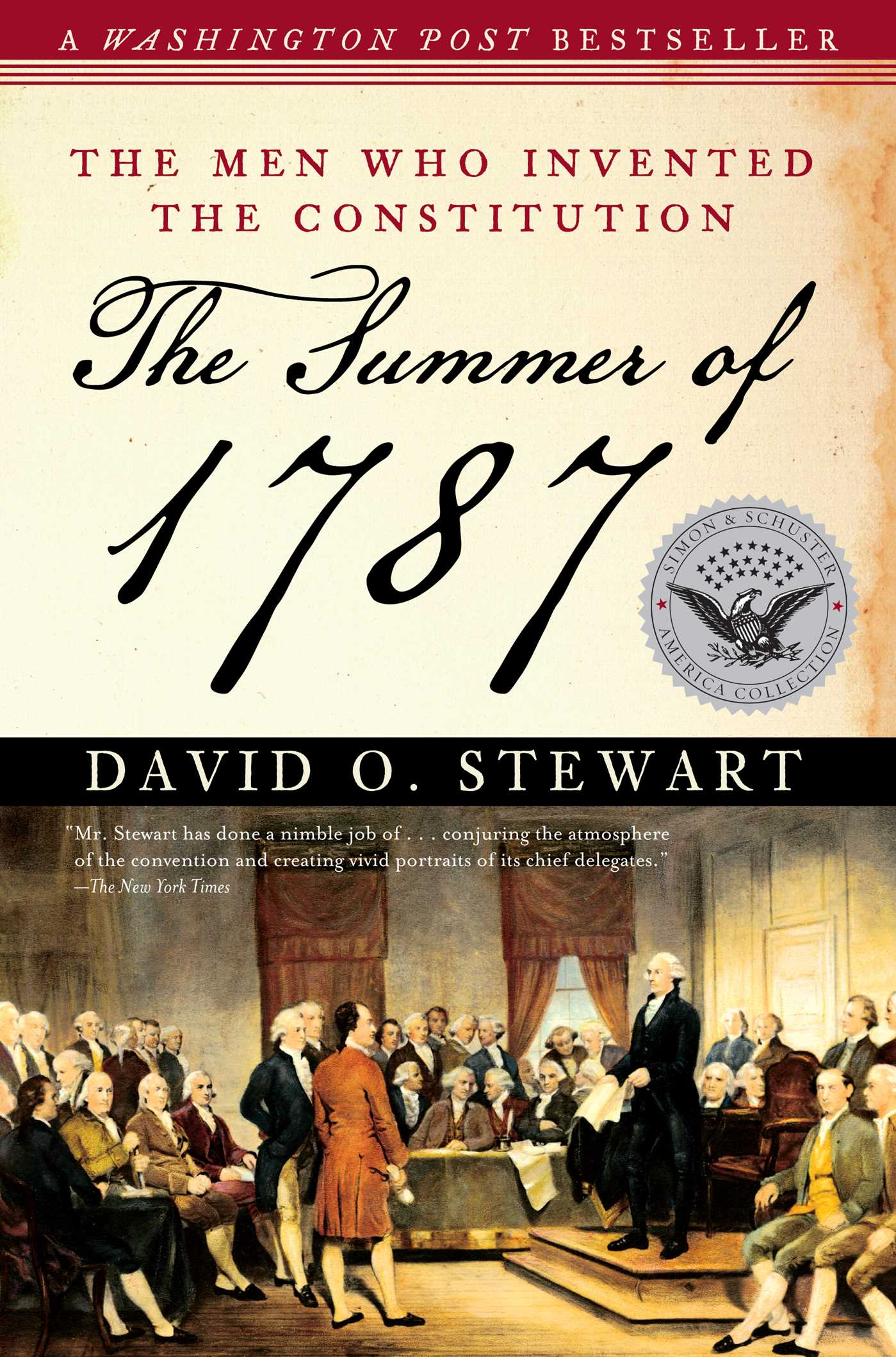 The summer of 1787 9781416554042 hr