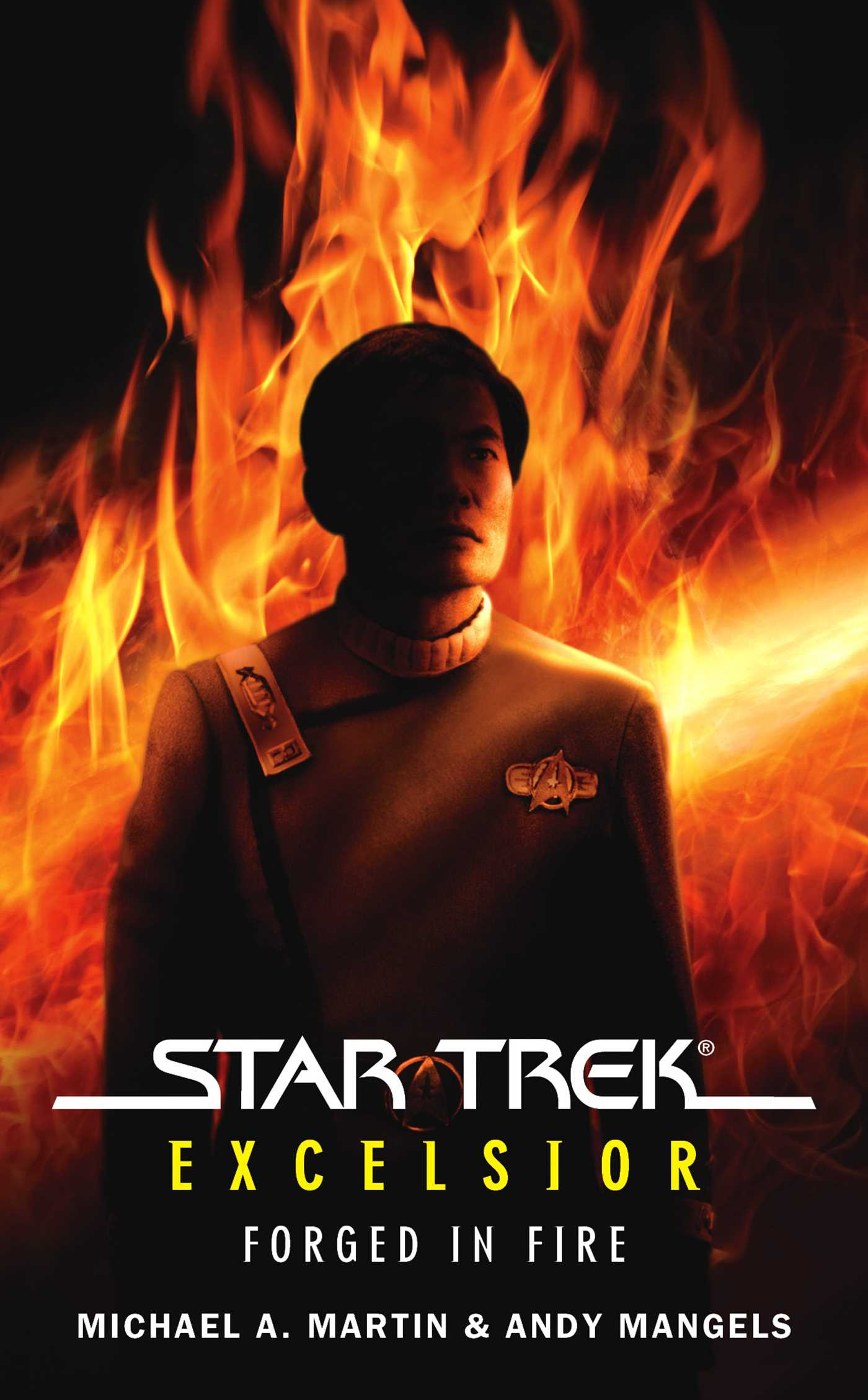 star trek the original series excelsior forged in fire ebook by