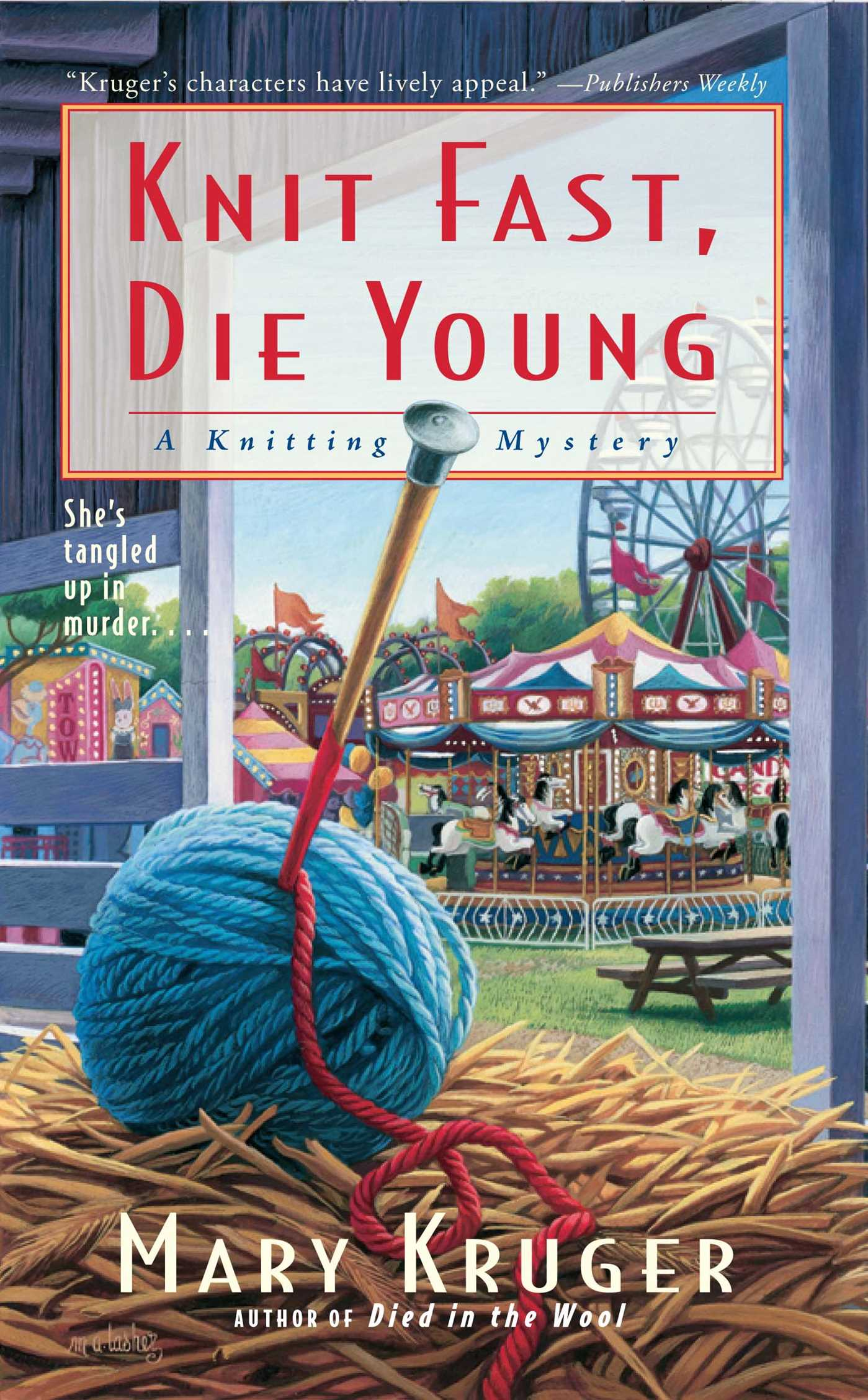 Knit fast die young 9781416556510 hr
