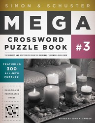 Simon & Schuster Mega Crossword Puzzle Book #3