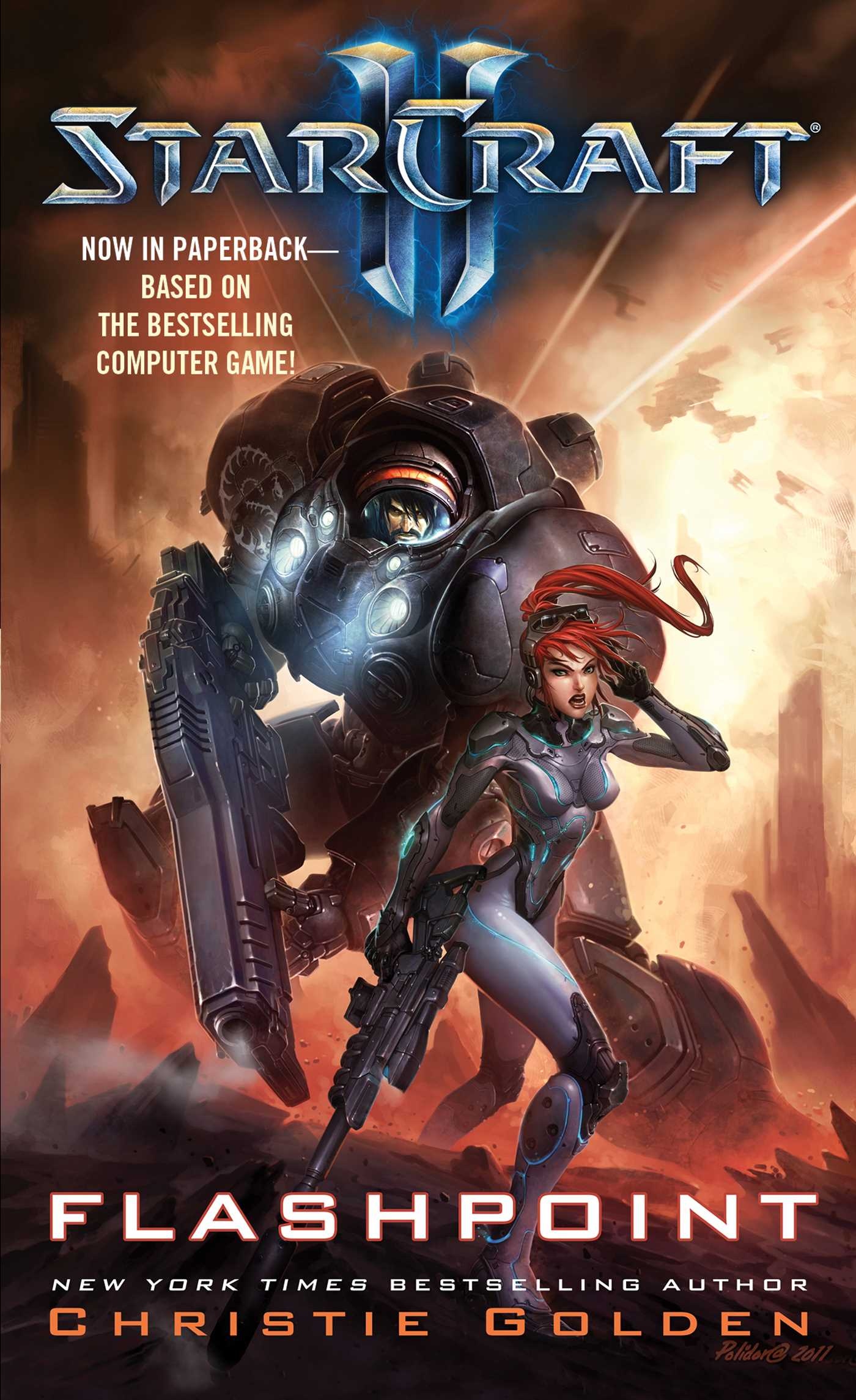 Starcraft ii flashpoint 9781416560043 hr