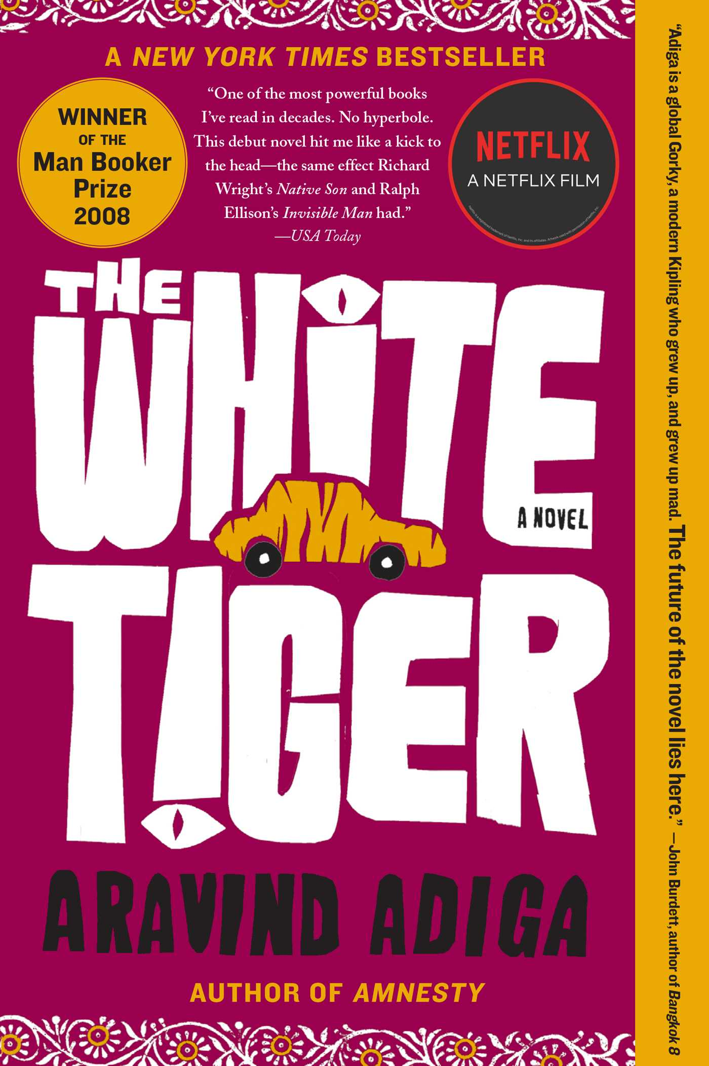 The white tiger 9781416562603 hr