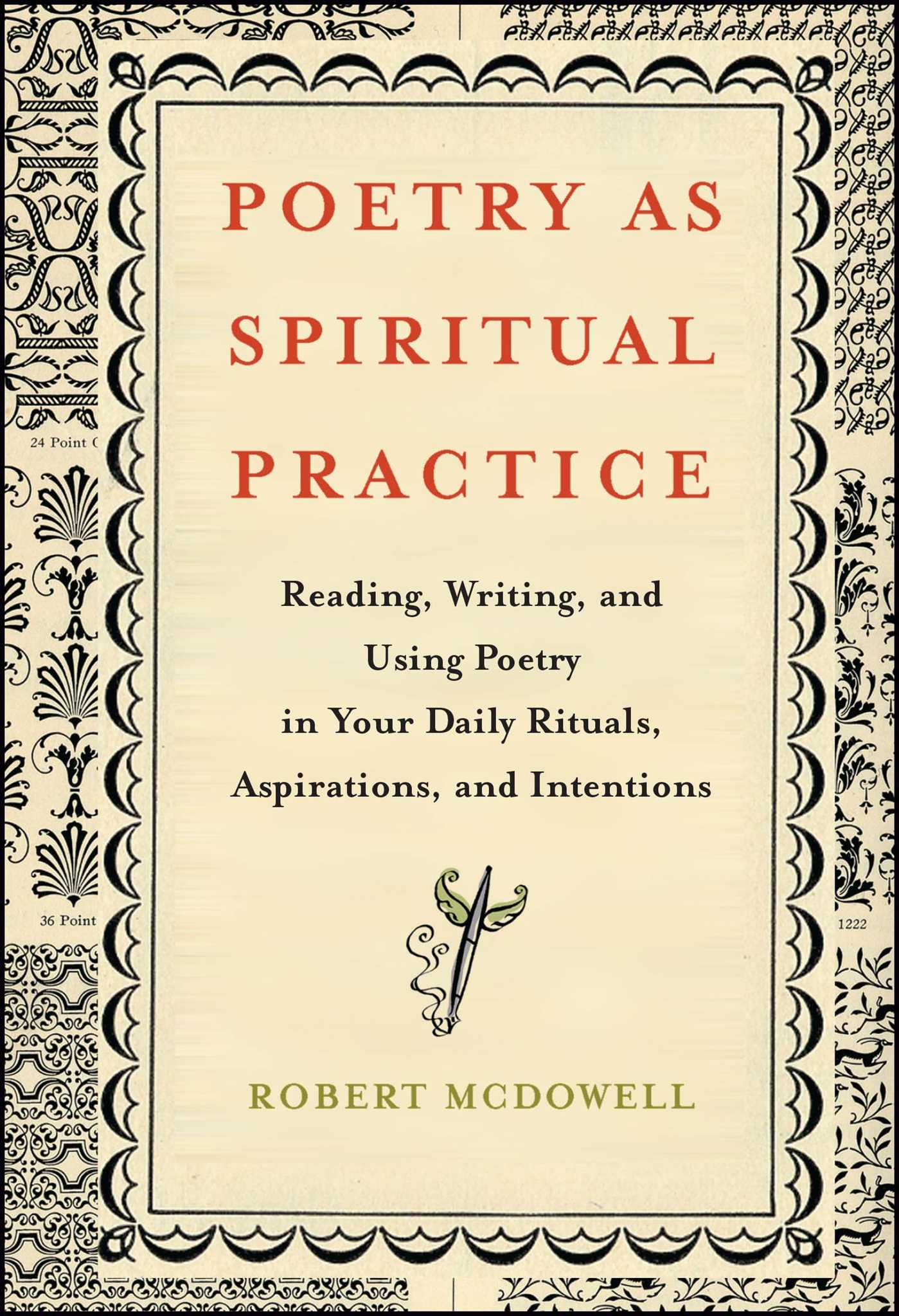 Poetry as spiritual practice 9781416566526 hr