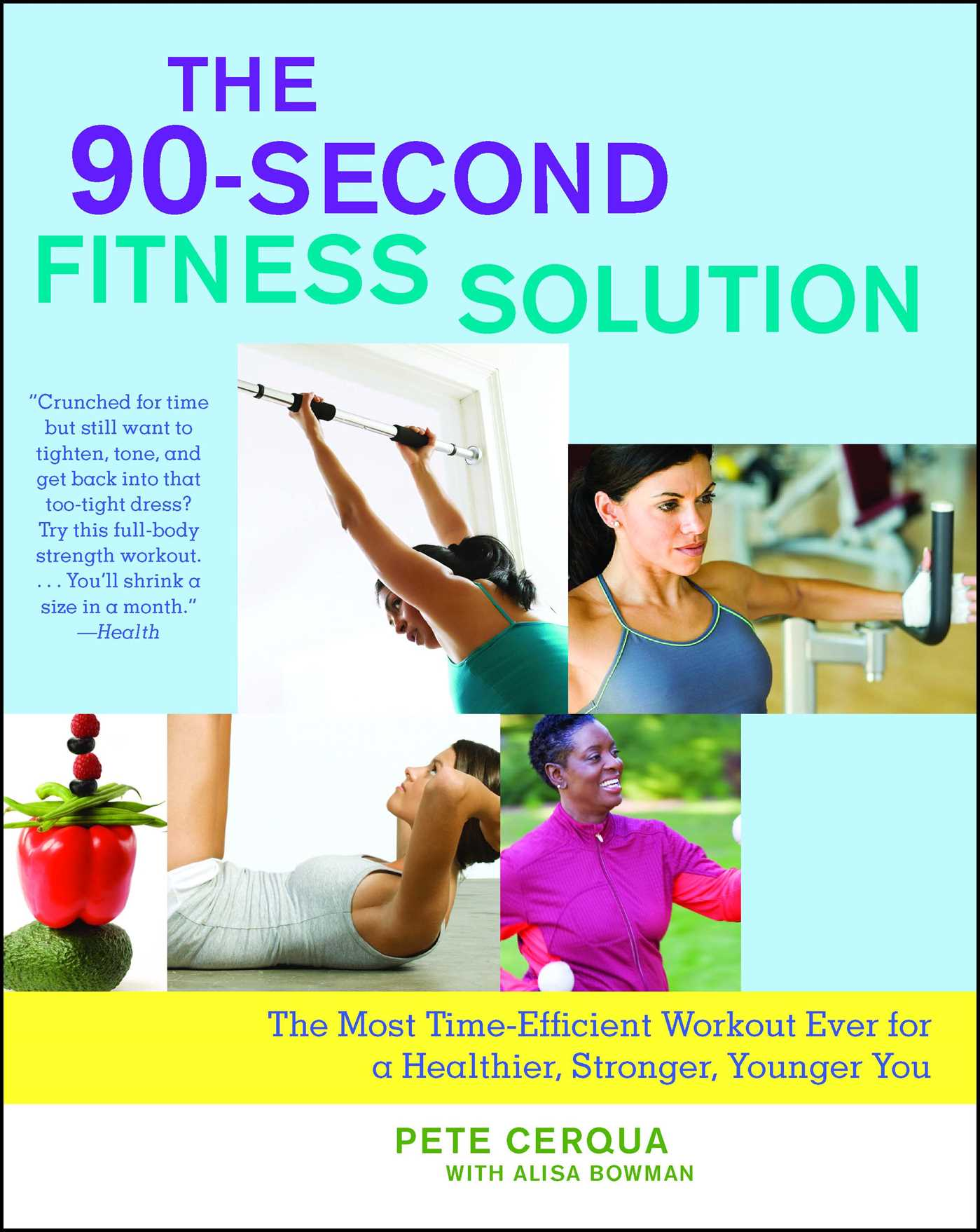 The 90 second fitness solution 9781416566823 hr