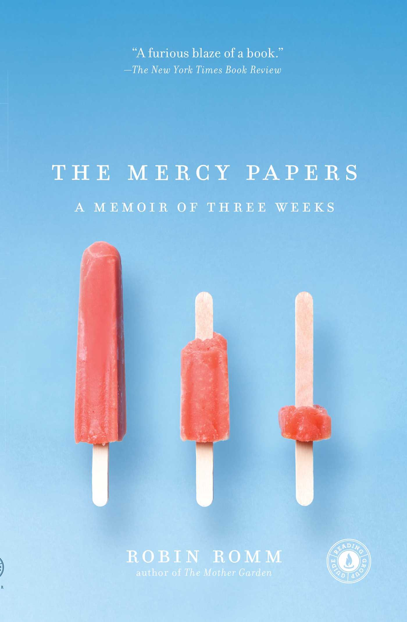 The mercy papers 9781416567929 hr