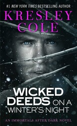 Wicked Deeds on a Winter's Night book cover