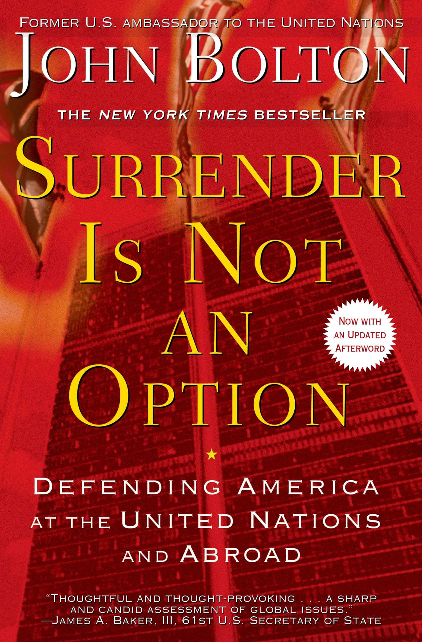 Surrender is not an option 9781416575573 hr