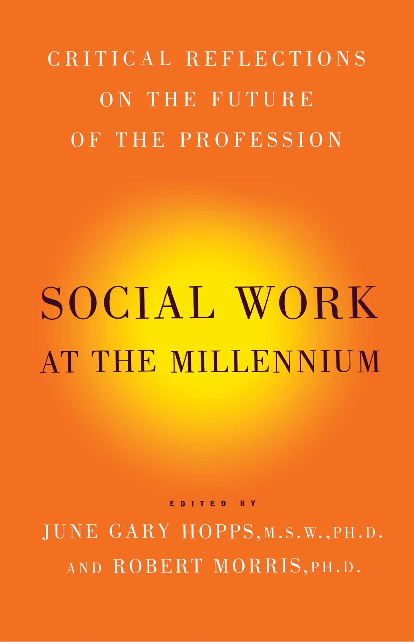 Social work at the millennium 9781416576921 hr