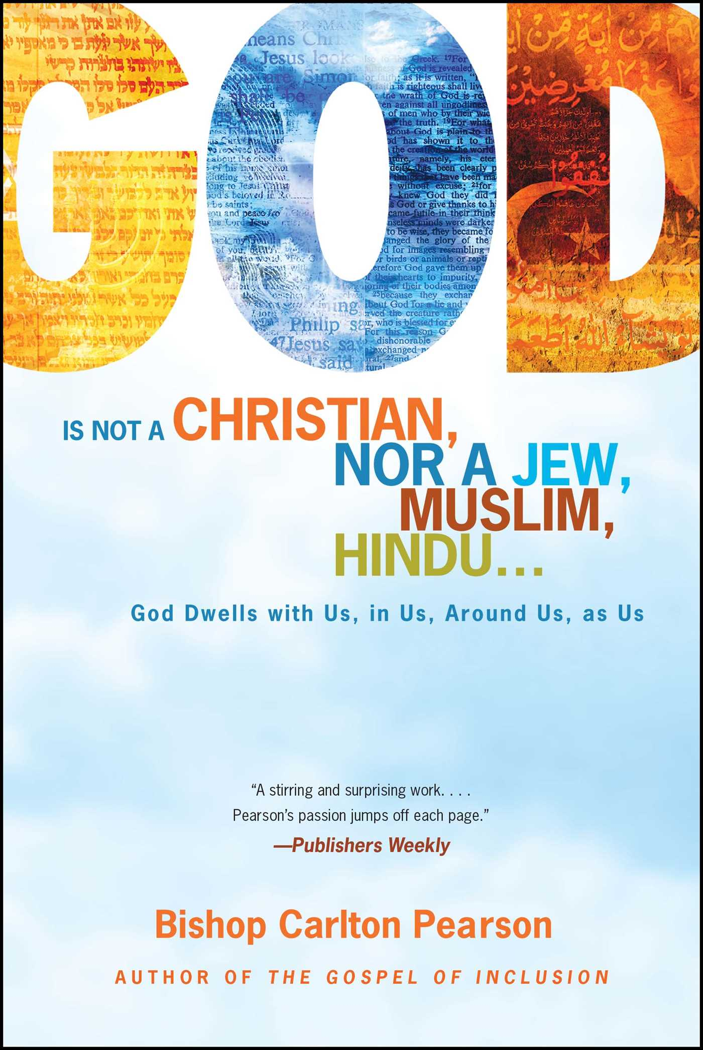 God is not a christian nor a jew muslim hindu 9781416584445 hr