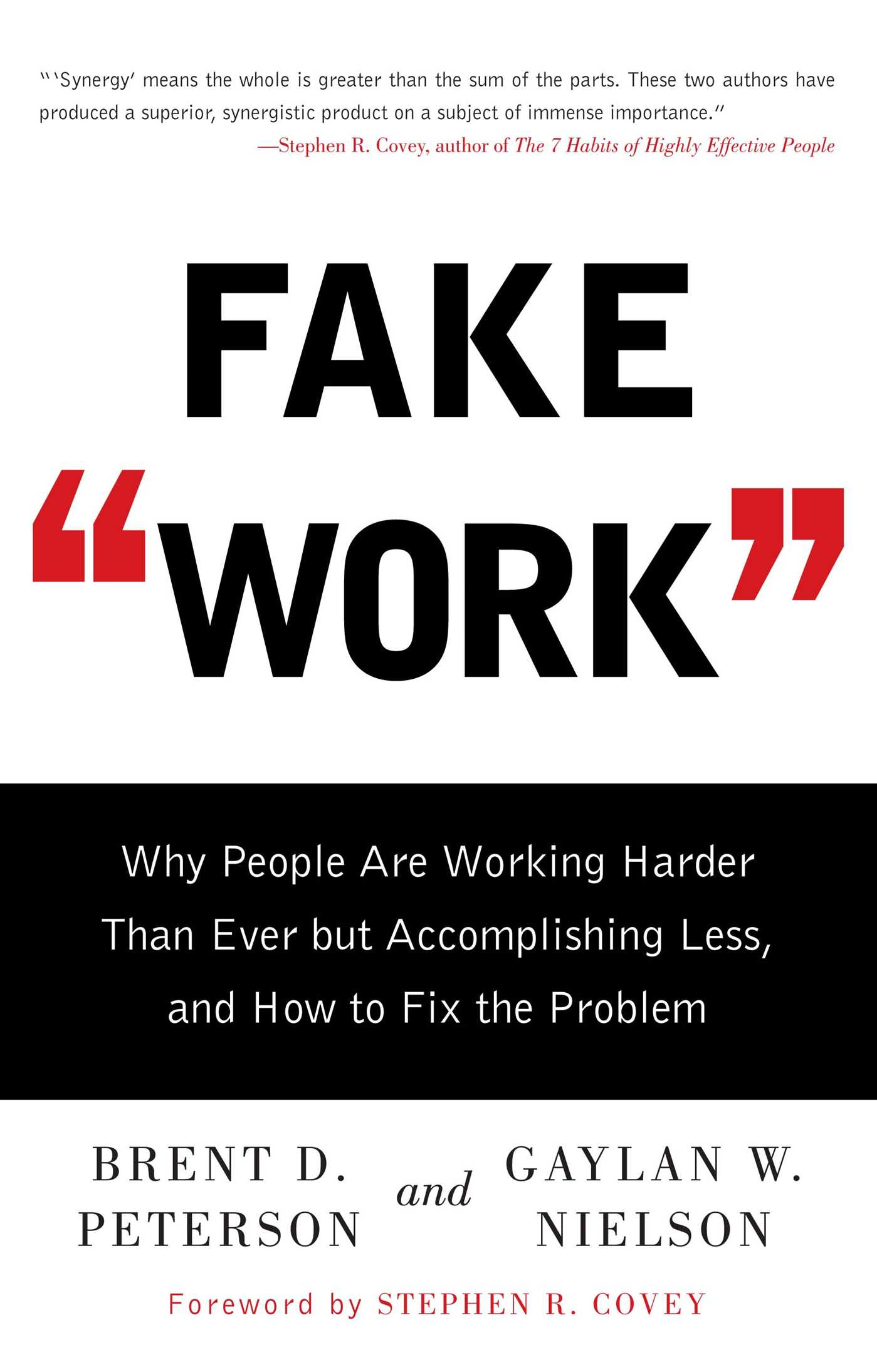 Fake work 9781416586357 hr