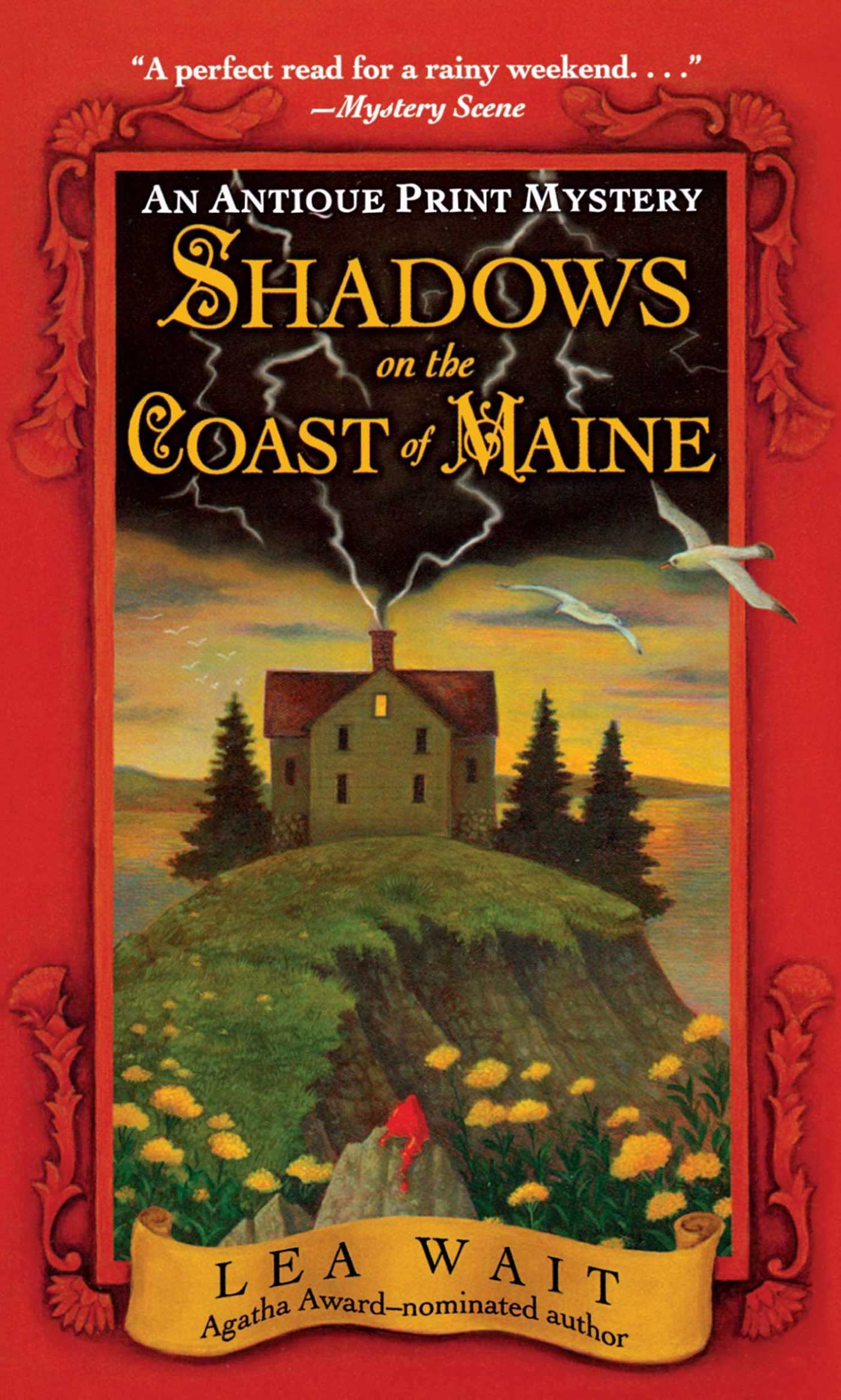 Shadows on the coast of maine 9781416587712 hr