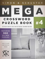 Simon & Schuster Mega Crossword Puzzle Book #4