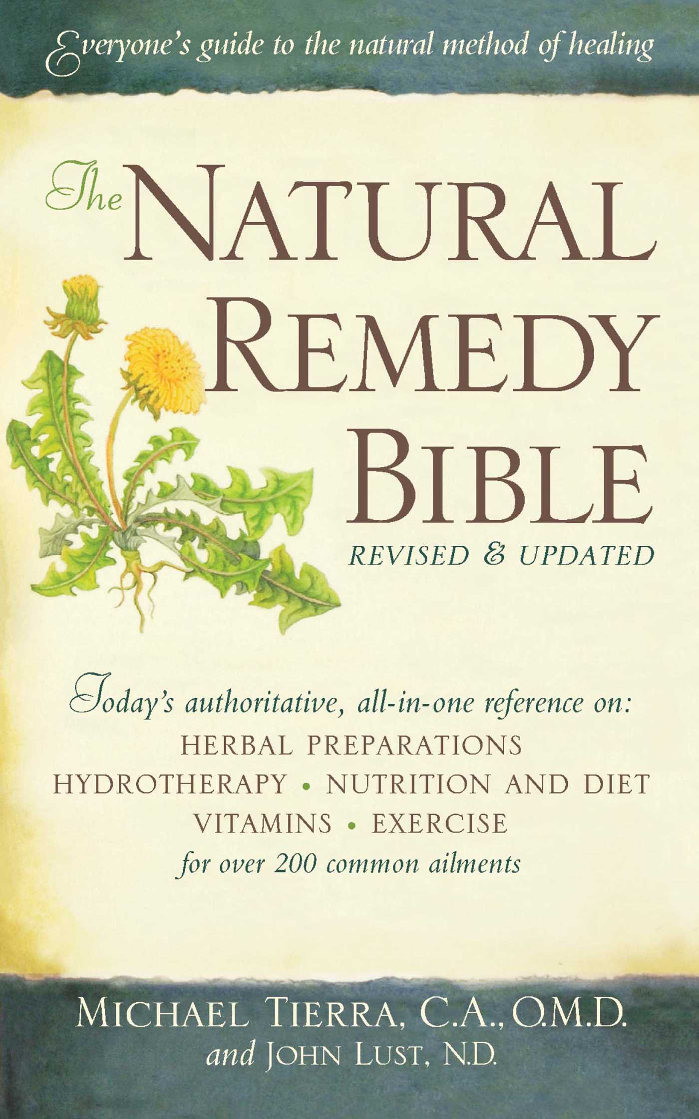 Center for holistic herbal therapy - The Natural Remedy Bible