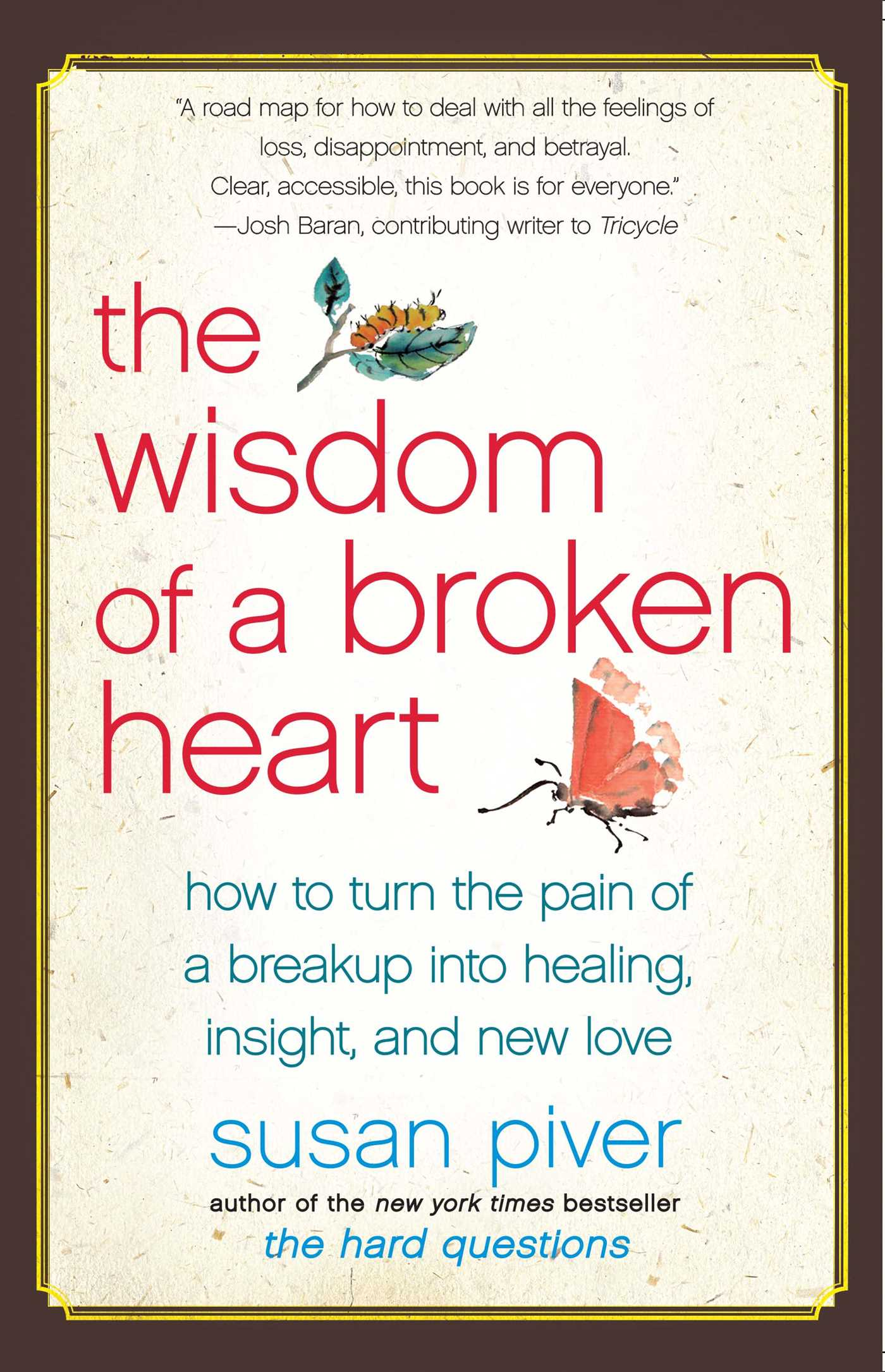 The wisdom of a broken heart 9781416593164 hr
