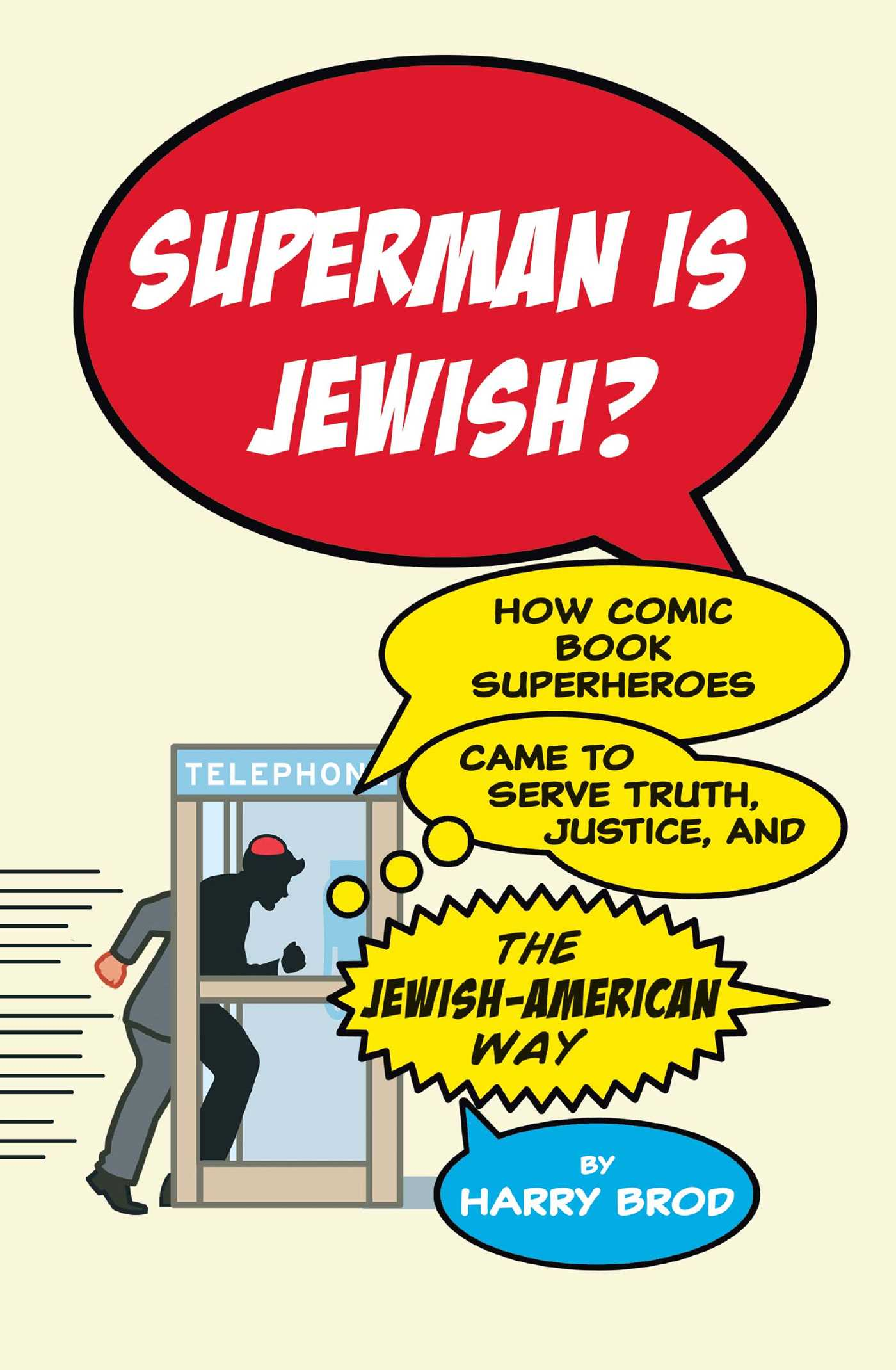 Superman is jewish 9781416595311 hr