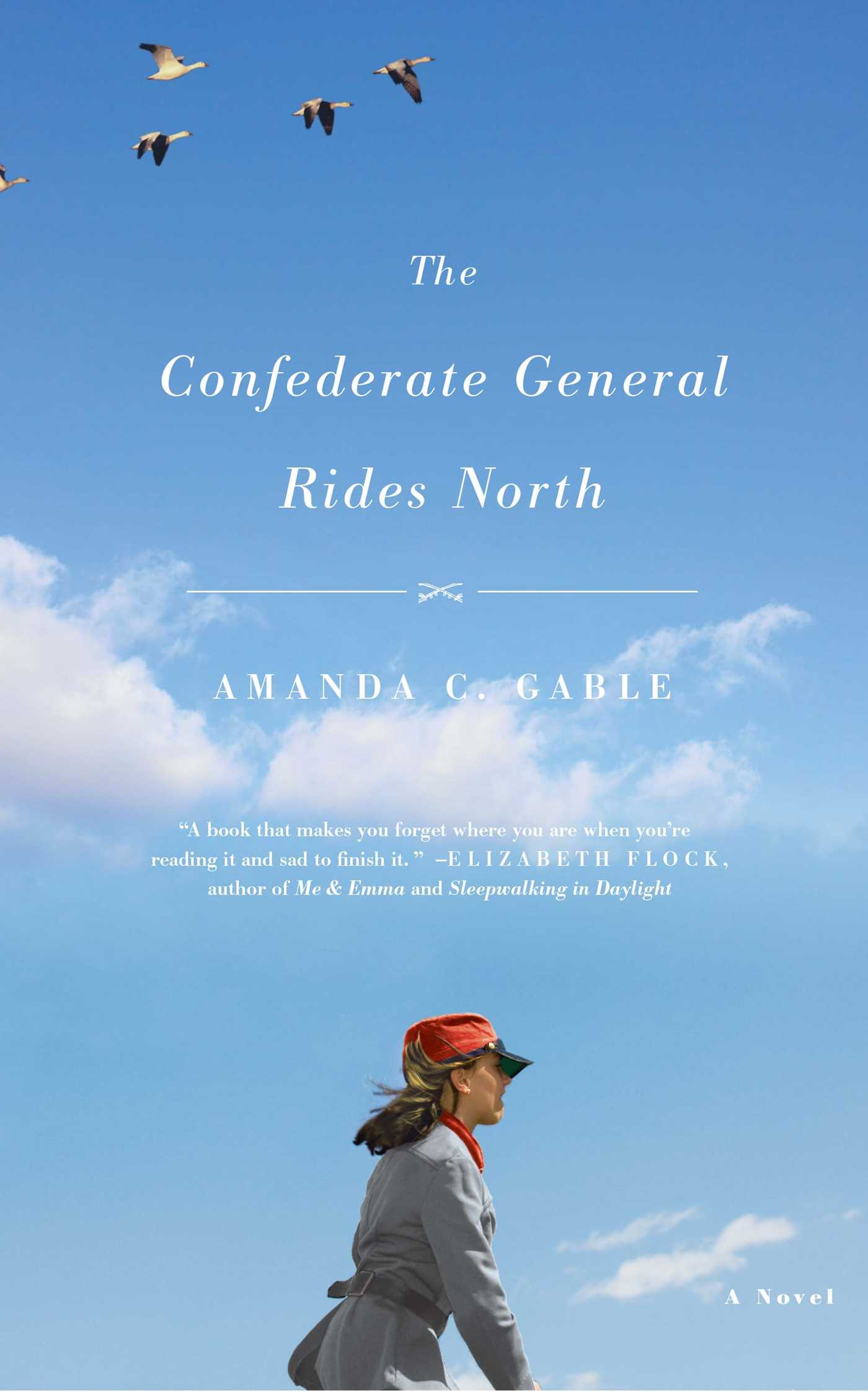 The confederate general rides north 9781416598404 hr