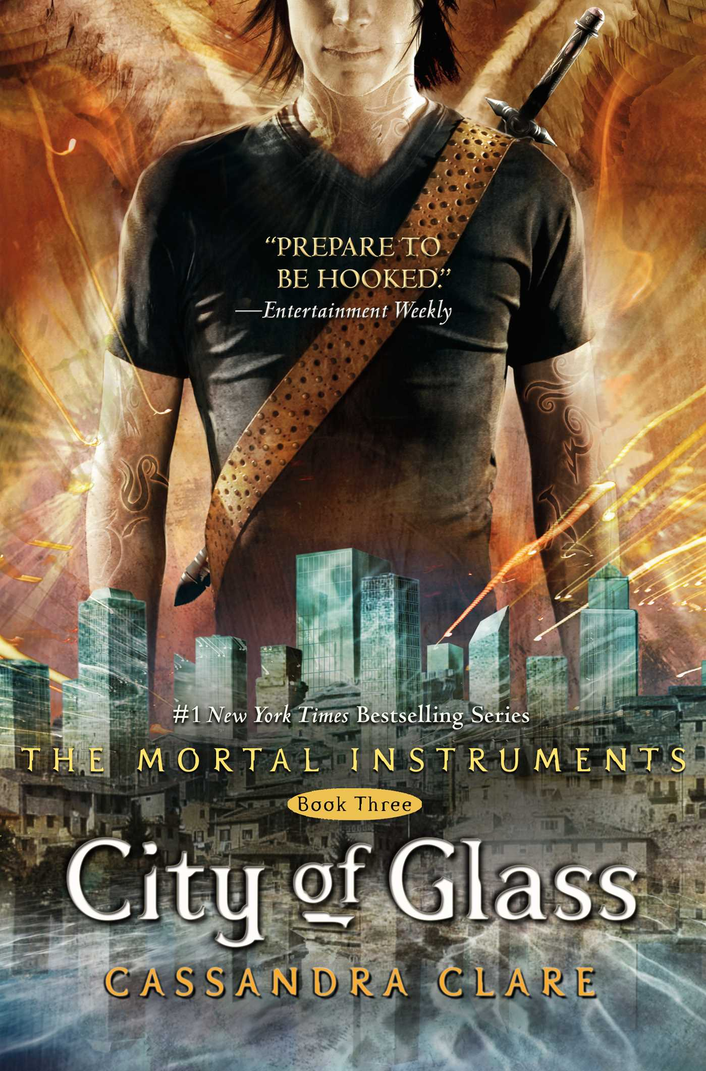 City of glass 9781416914303 hr