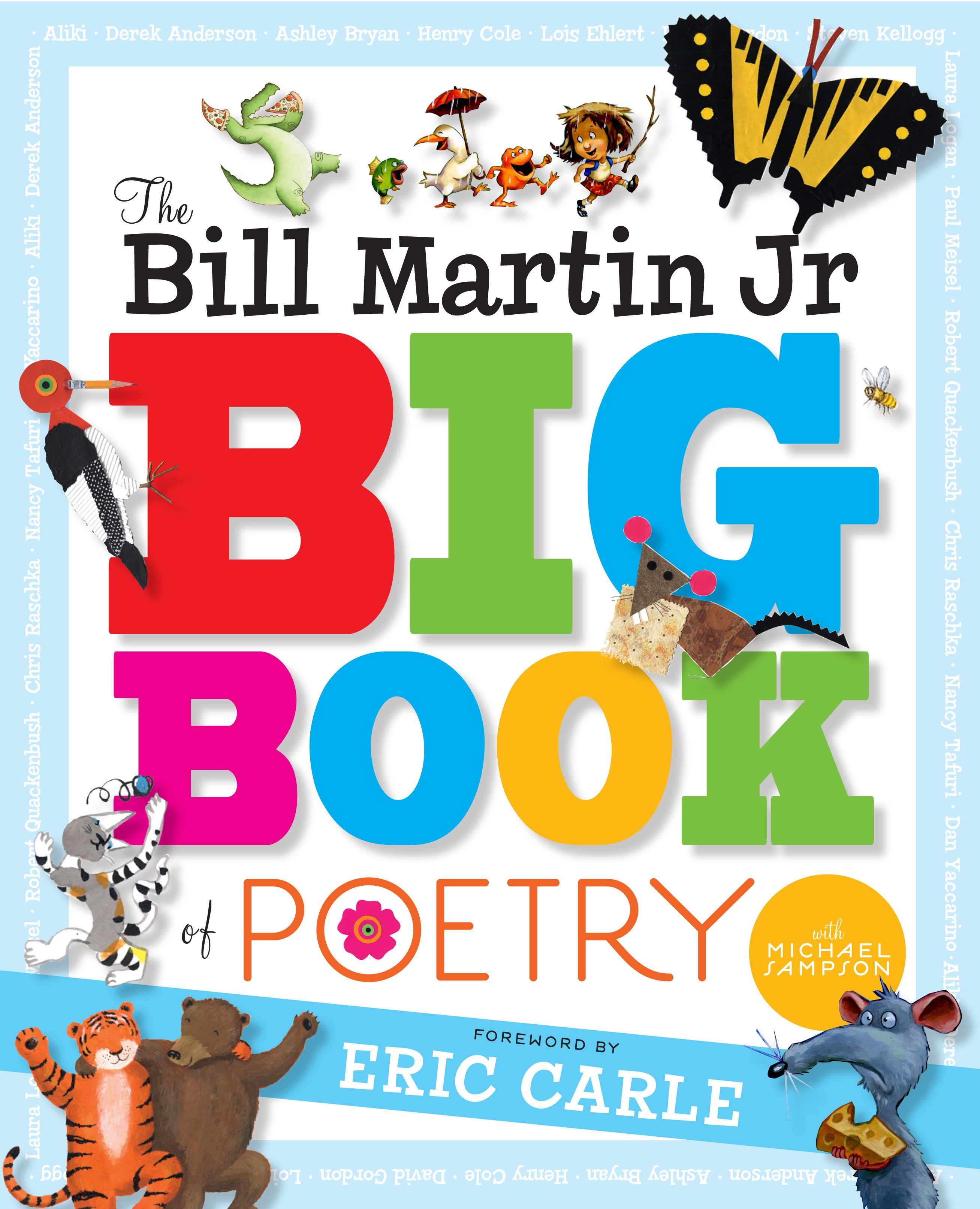 The bill martin jr big book of poetry 9781416939719 hr