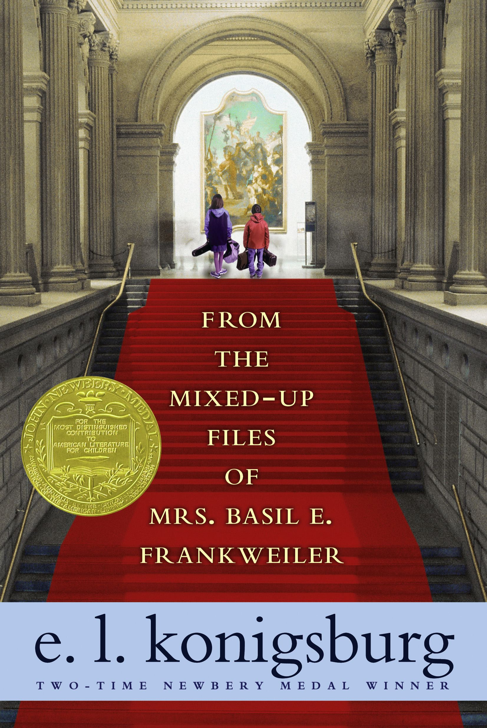 From the mixed up files of mrs basil e frankweiler 9781416949756 hr