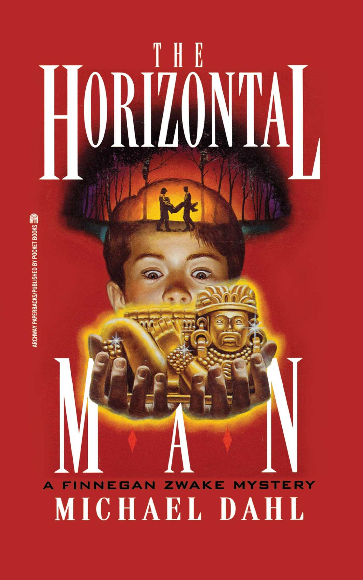 The horizontal man finnegan zwake 1 9781416986683 hr