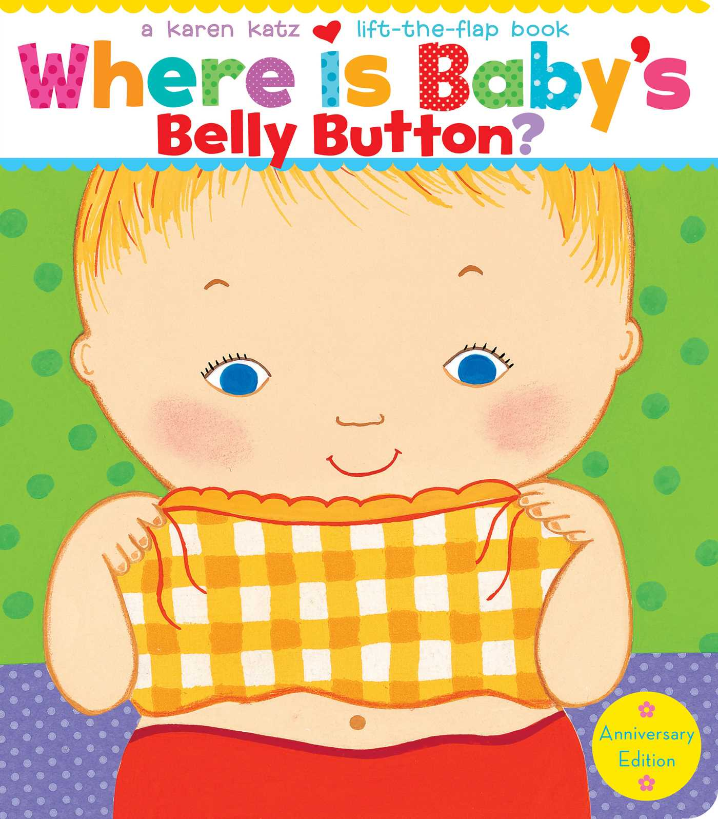 Book Cover Image (jpg): Where Is Baby's Belly Button?