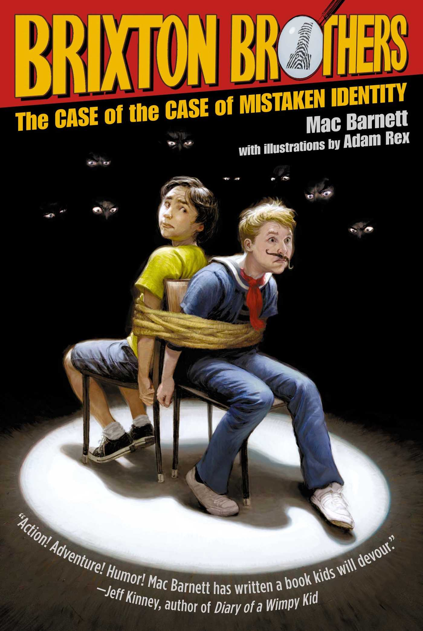 The case of the case of mistaken identity 9781416997696 hr