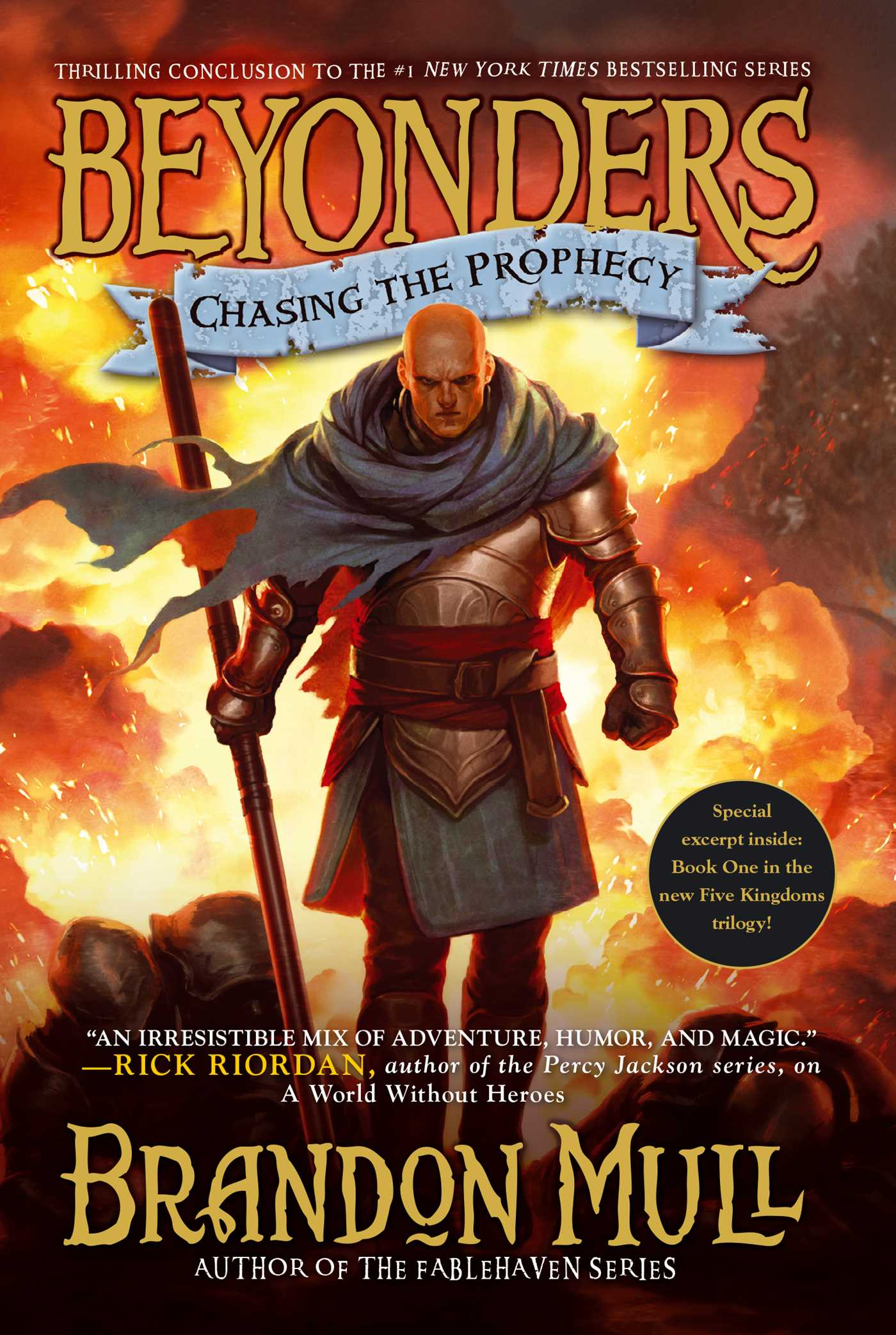 Chasing the prophecy 9781416998006 hr