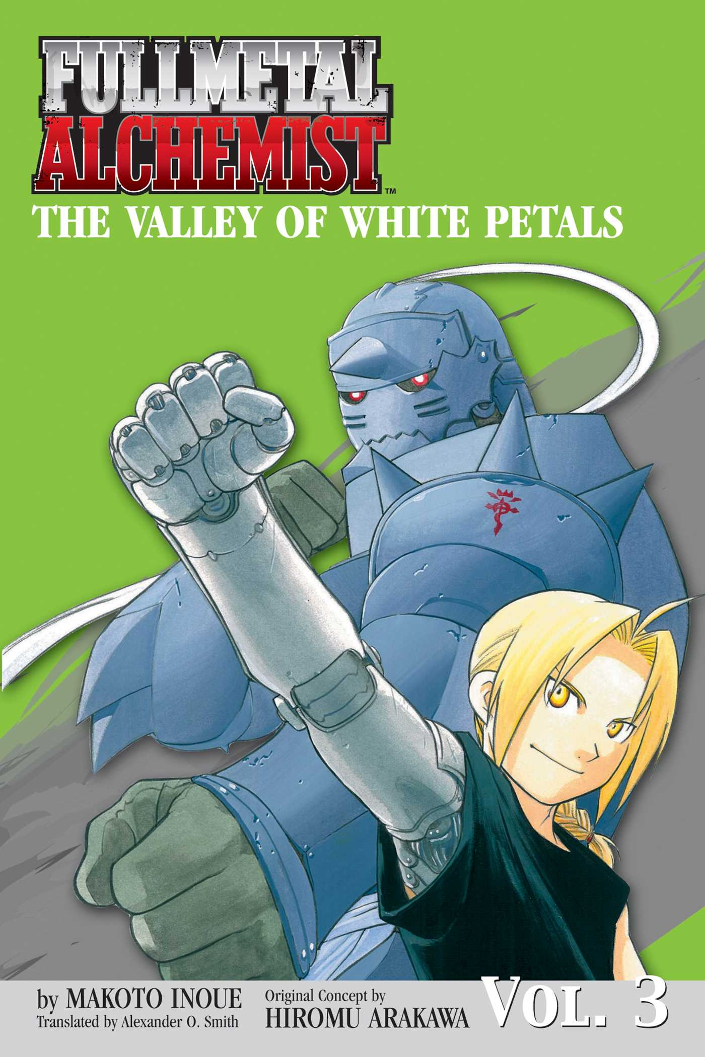 Fullmetal alchemist the valley of white petals novel 9781421504025 hr
