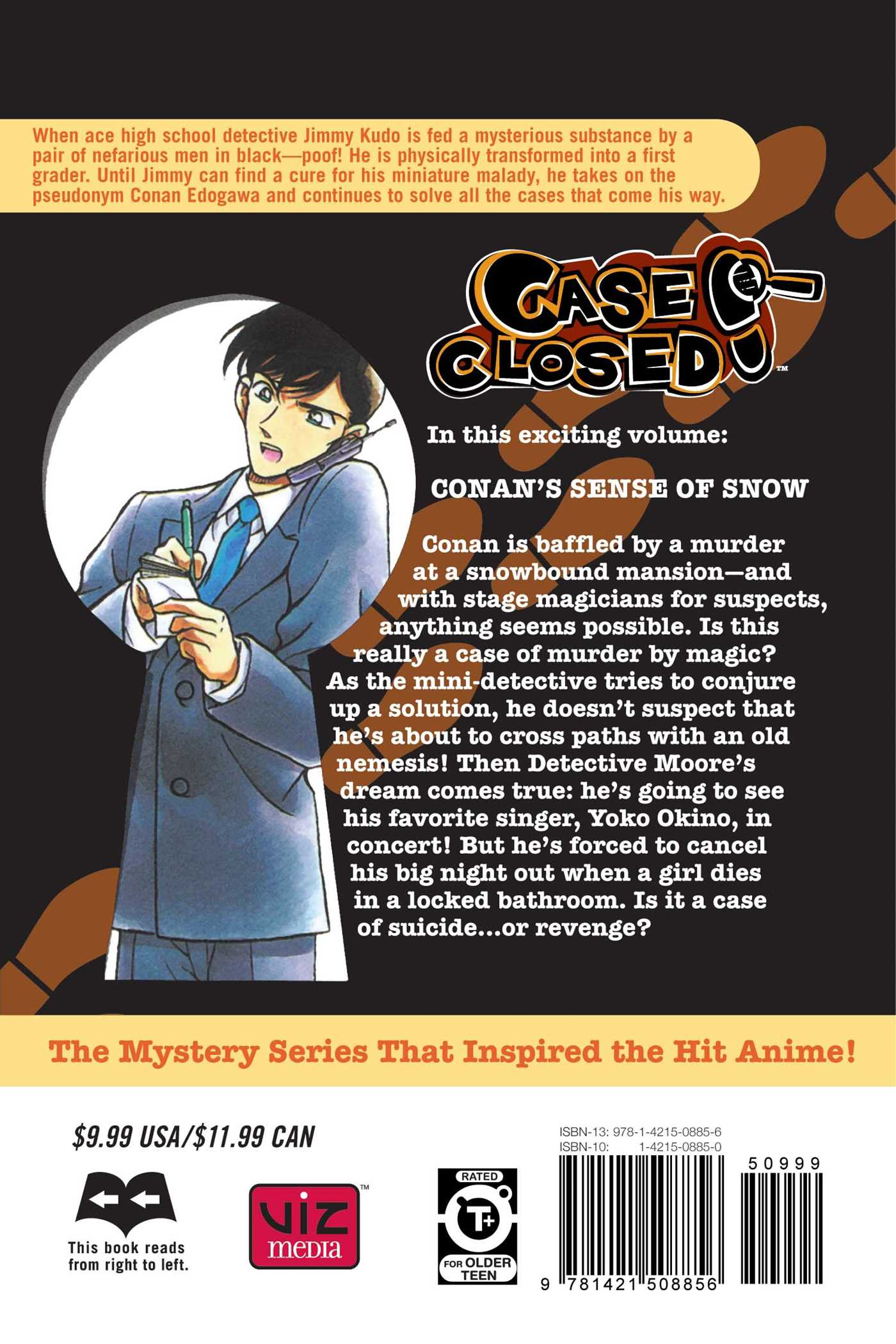 Case closed vol 20 9781421508856 hr back