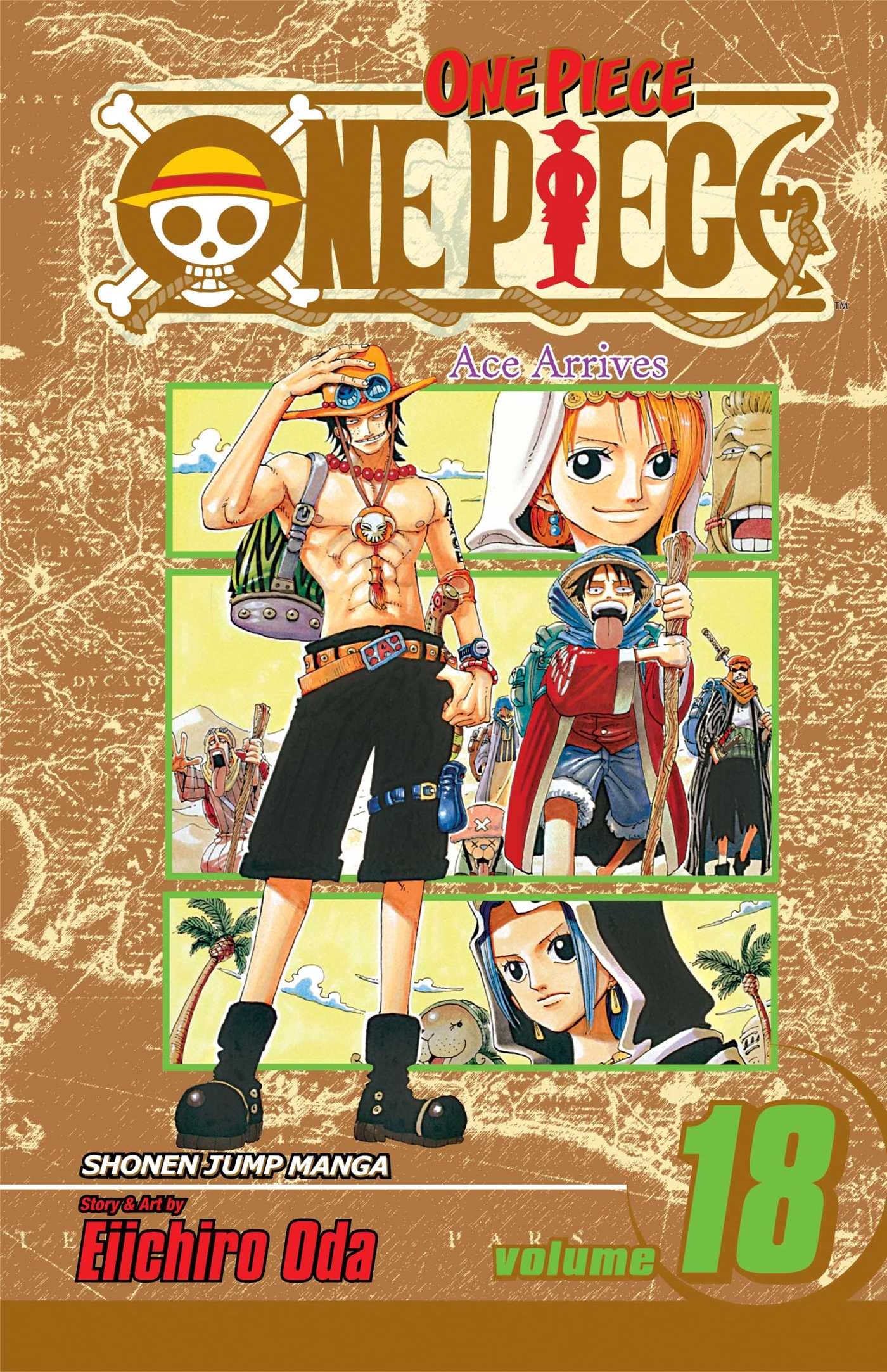 One piece vol 18 9781421515120 hr