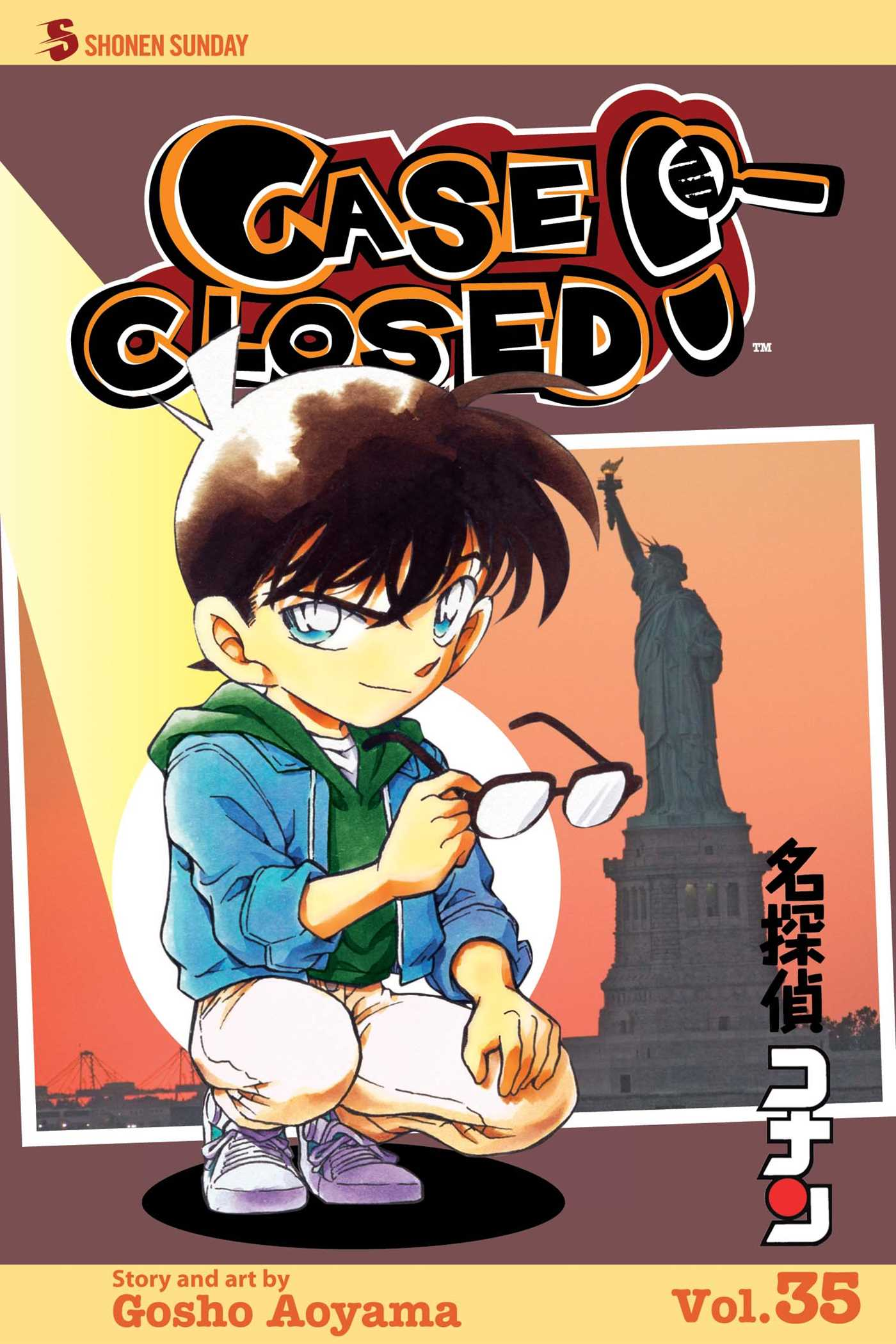 Case closed vol 35 9781421528861 hr