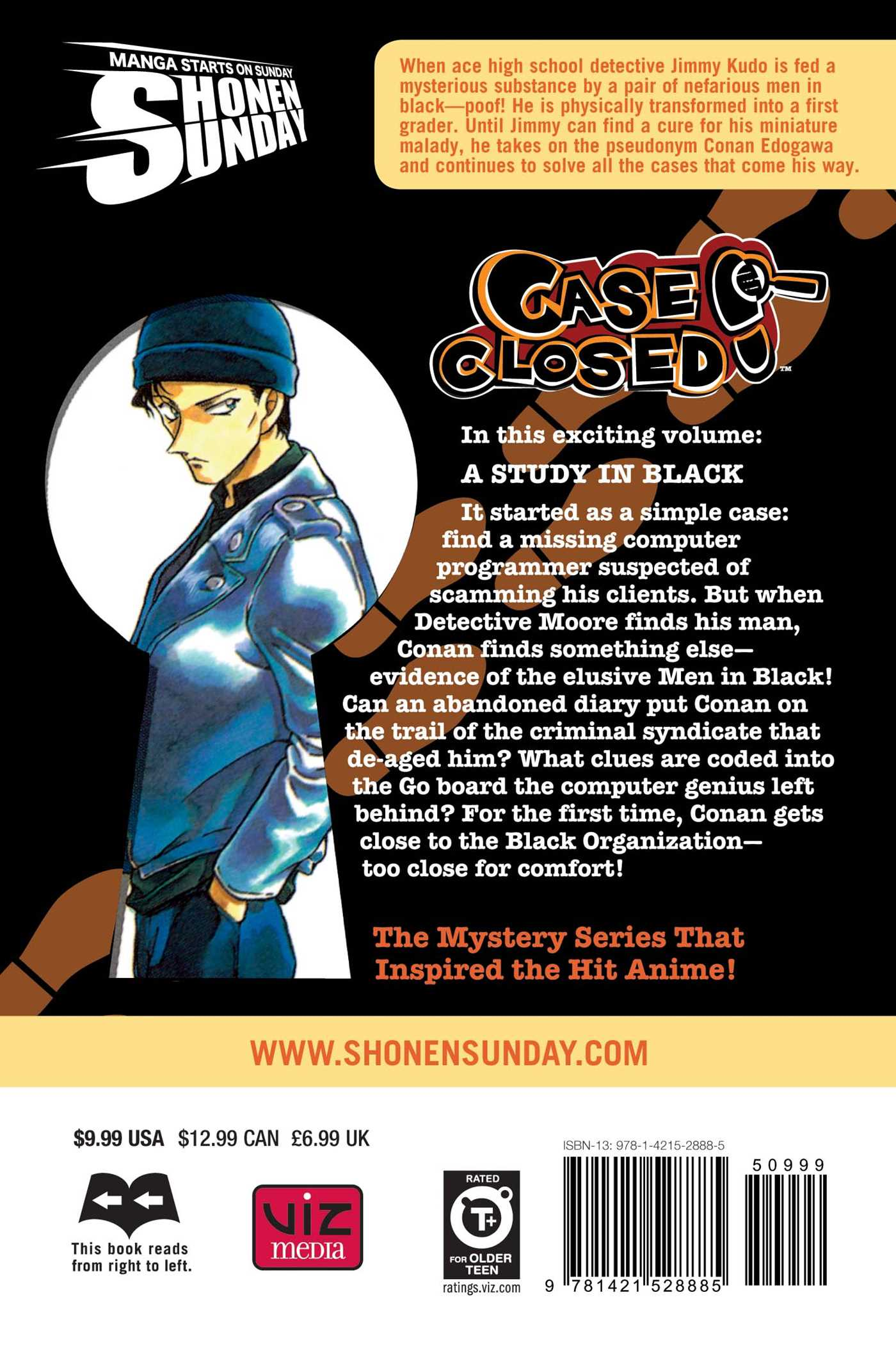 Case closed vol 37 9781421528885 hr back